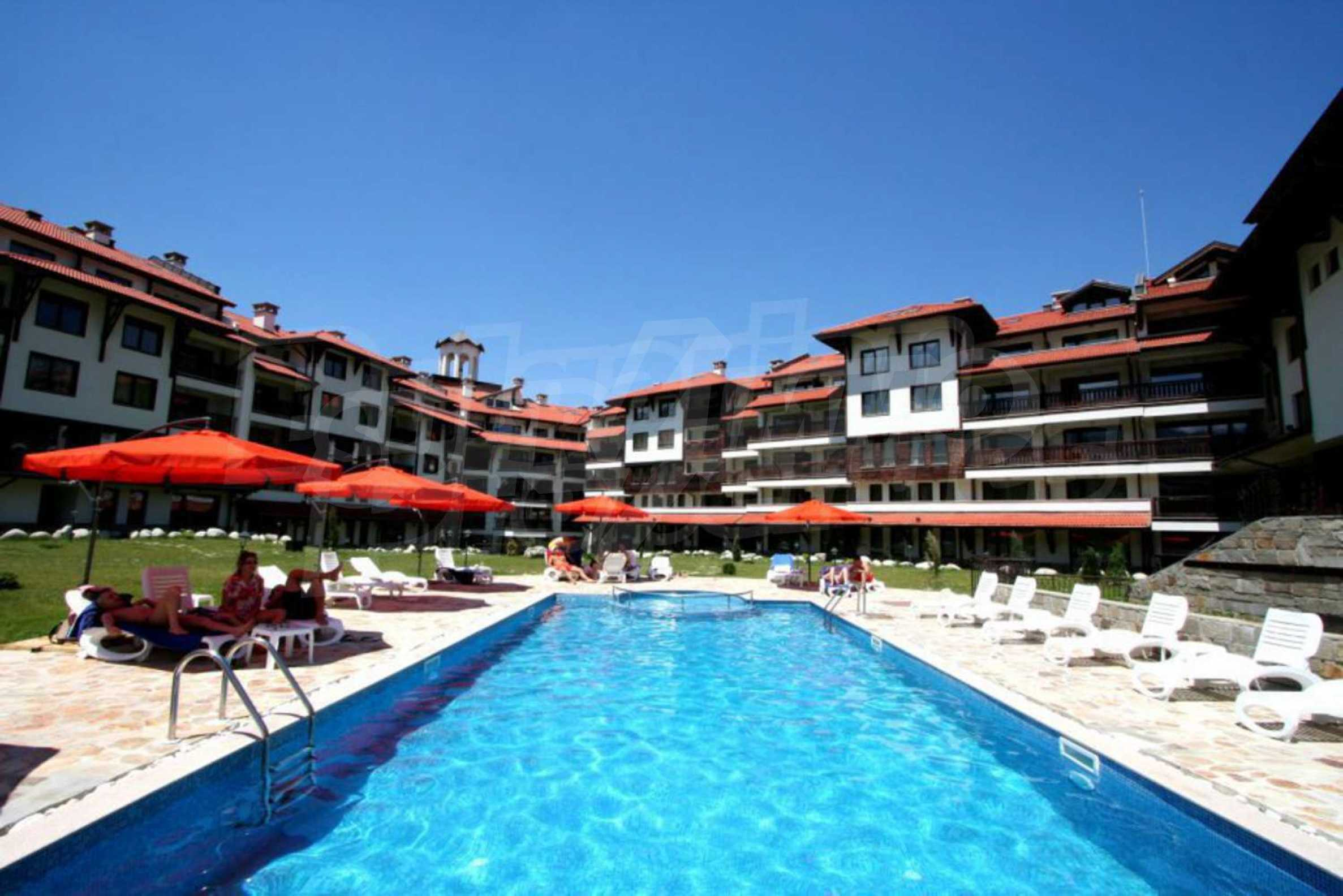Furnished studio only meters away from the ski lift in Bansko 10