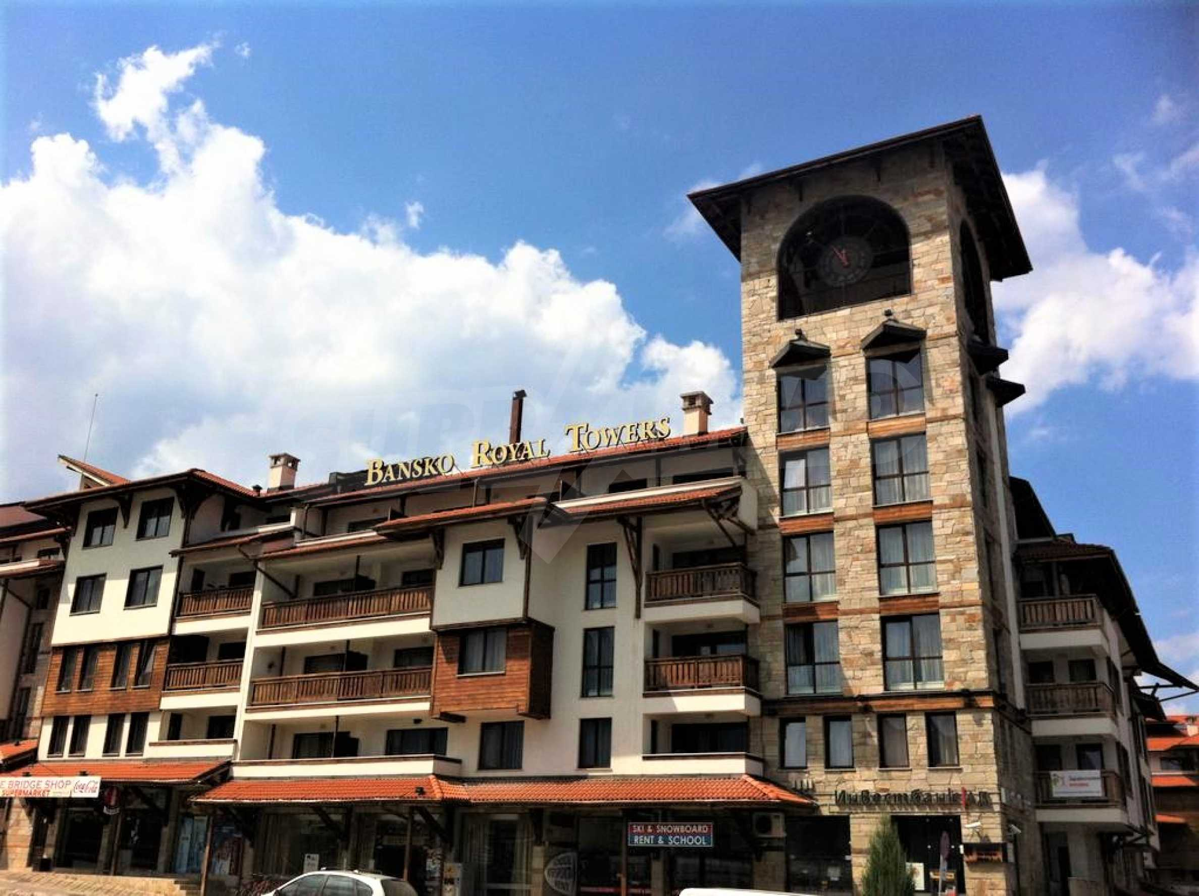 Furnished studio only meters away from the ski lift in Bansko 11
