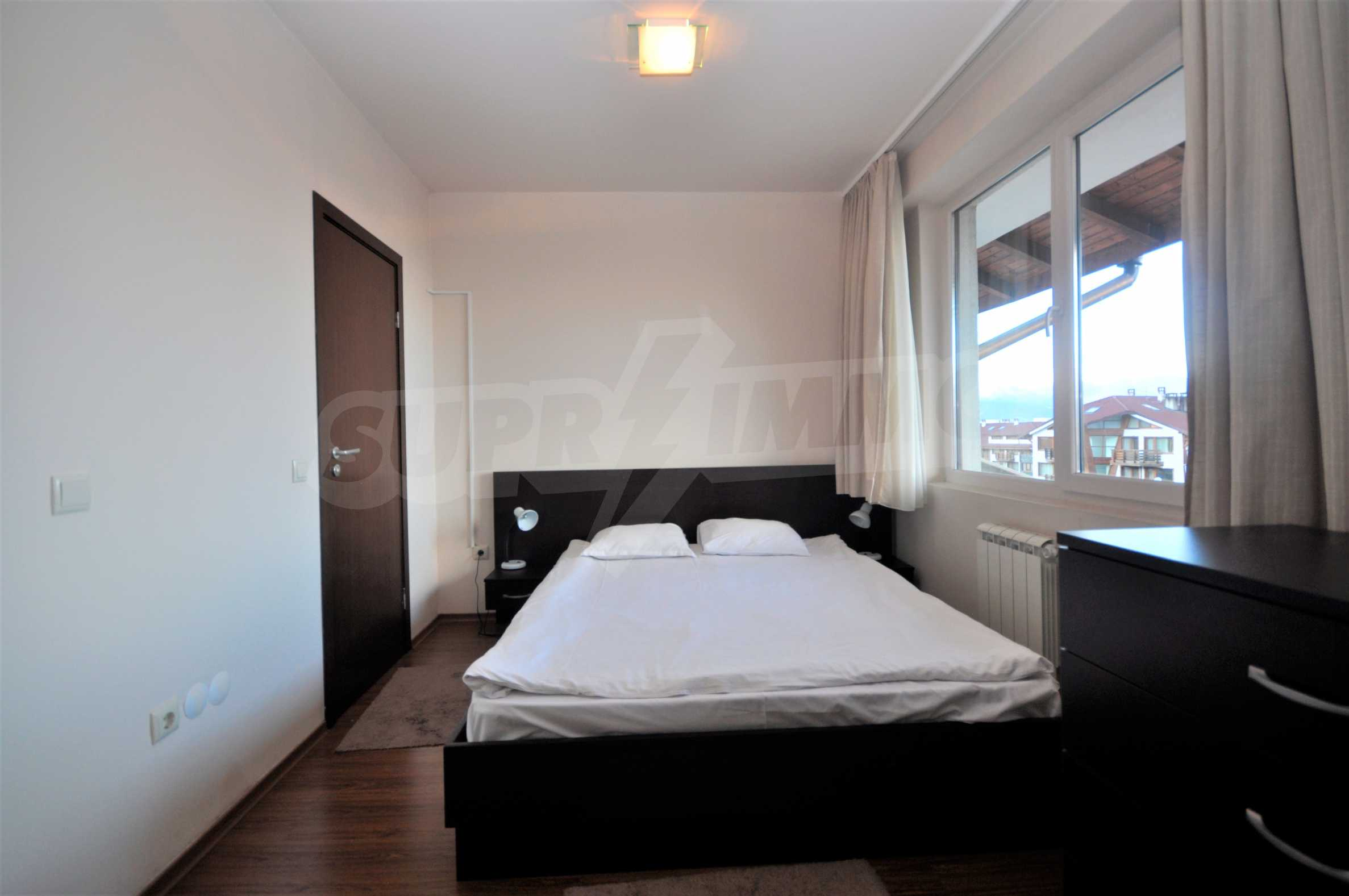 Furnished studio only meters away from the ski lift in Bansko 3