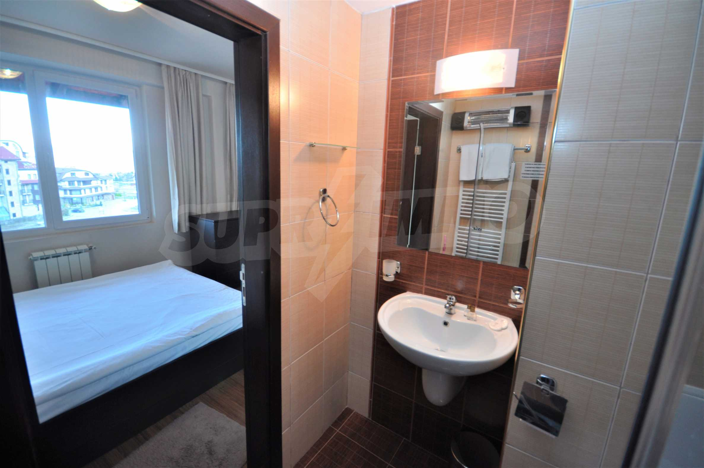 Furnished studio only meters away from the ski lift in Bansko 6