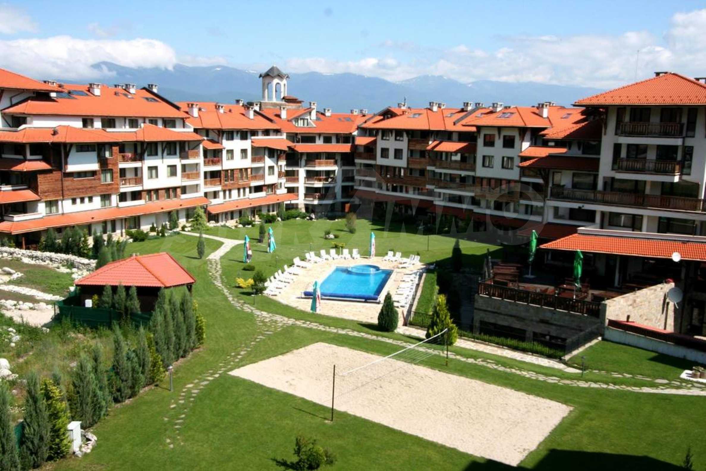 Furnished studio only meters away from the ski lift in Bansko 8