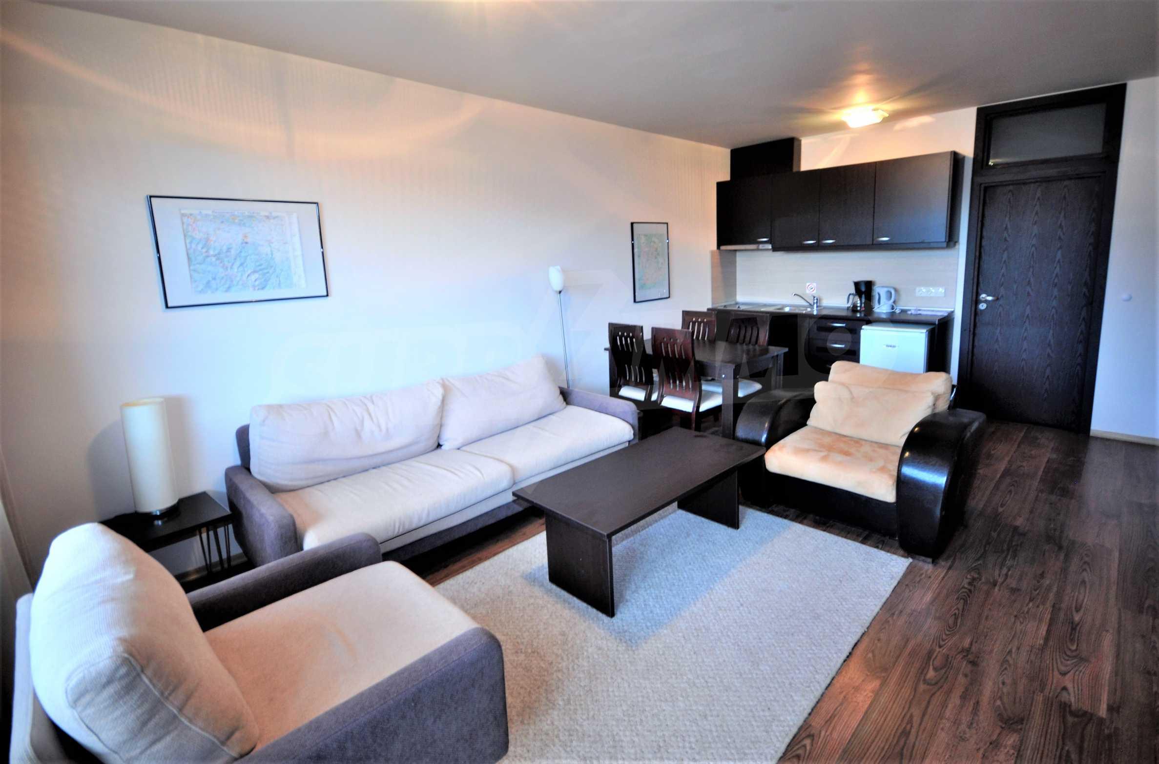 Spacious two-bedroom apartment near the ski lift in Bansko 1