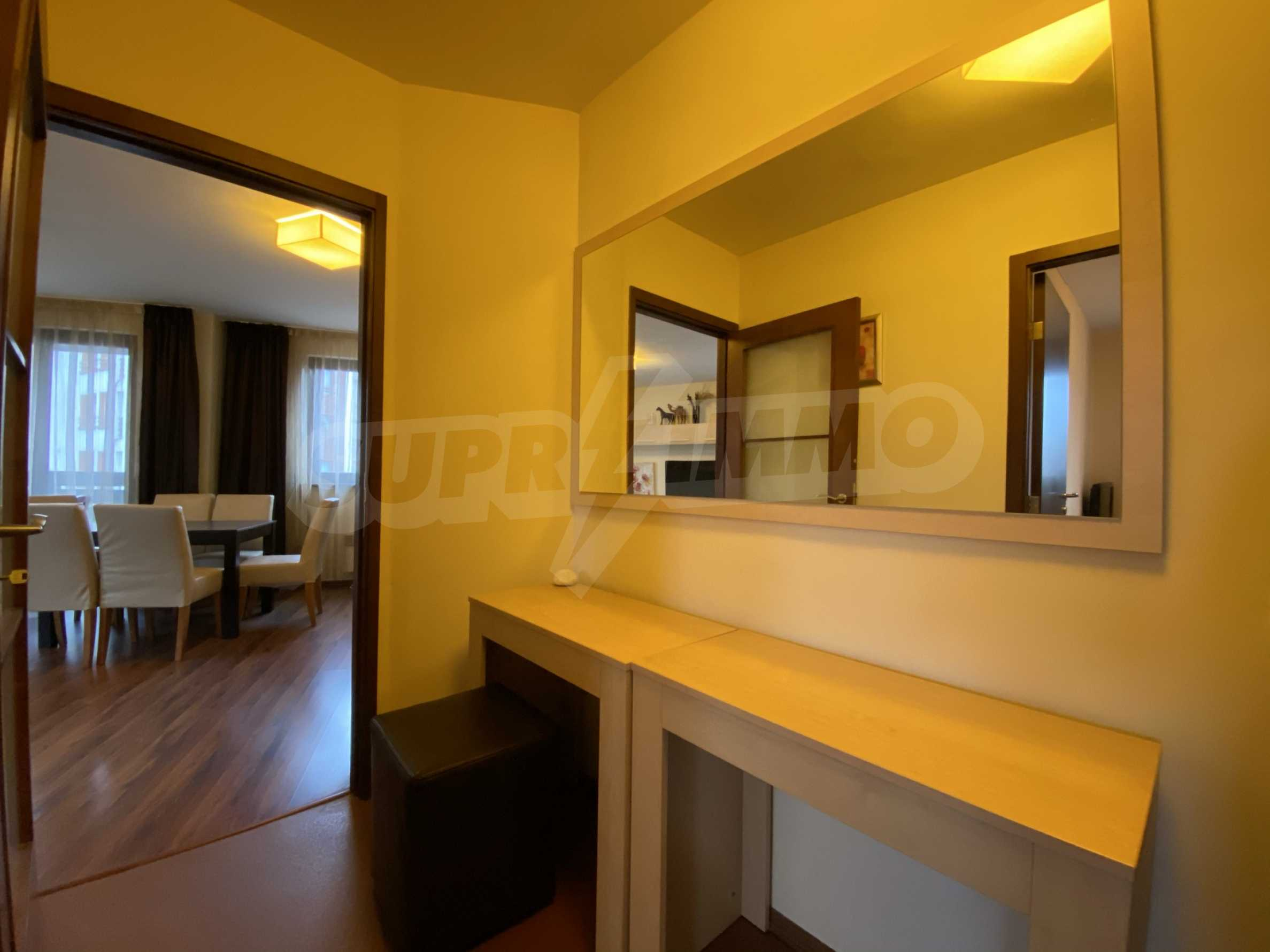 Furnished one-bedroom apartment 150 m from the ski lift in Bansko 9