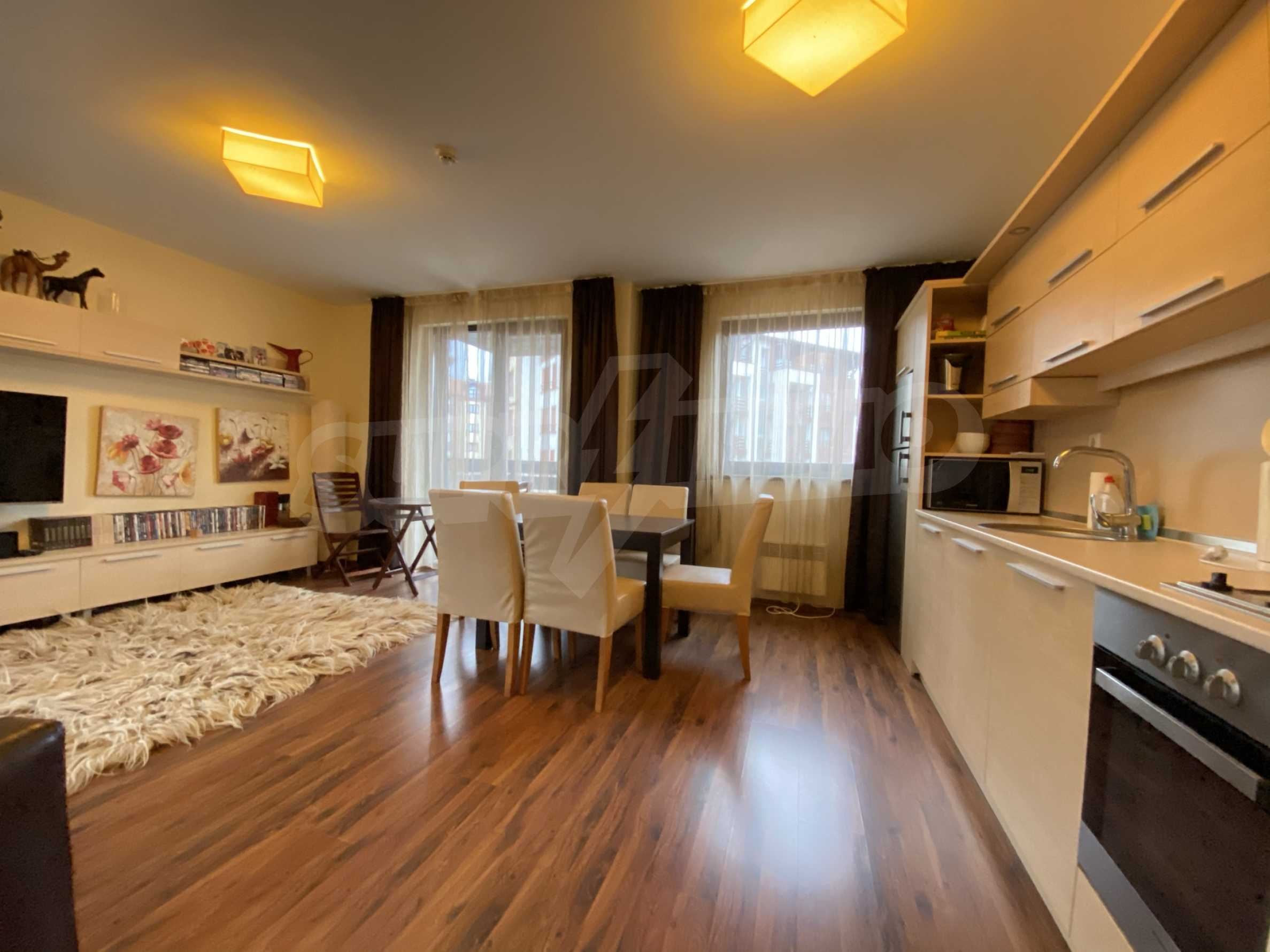 Furnished one-bedroom apartment 150 m from the ski lift in Bansko 10