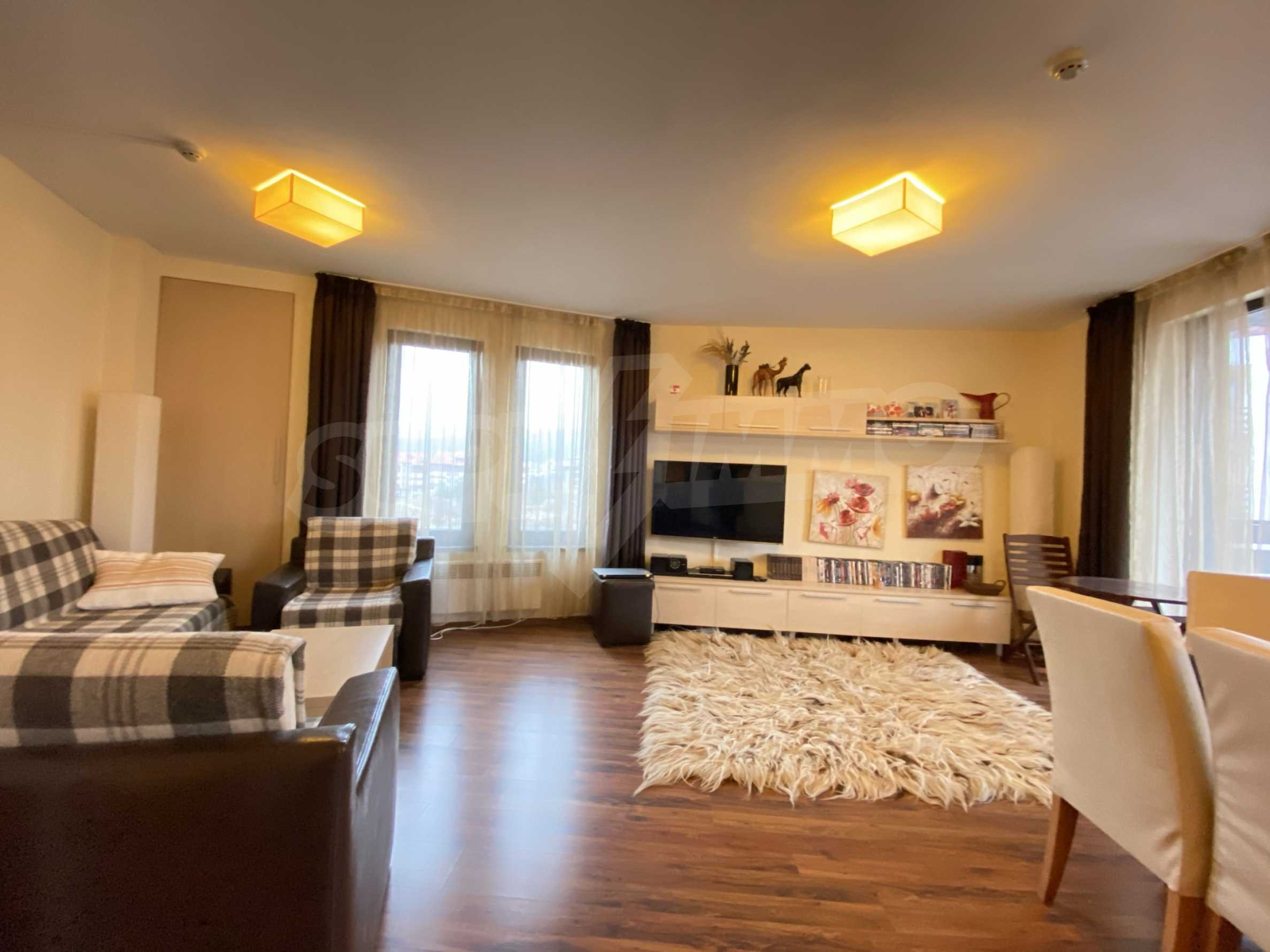 Furnished one-bedroom apartment 150 m from the ski lift in Bansko 11