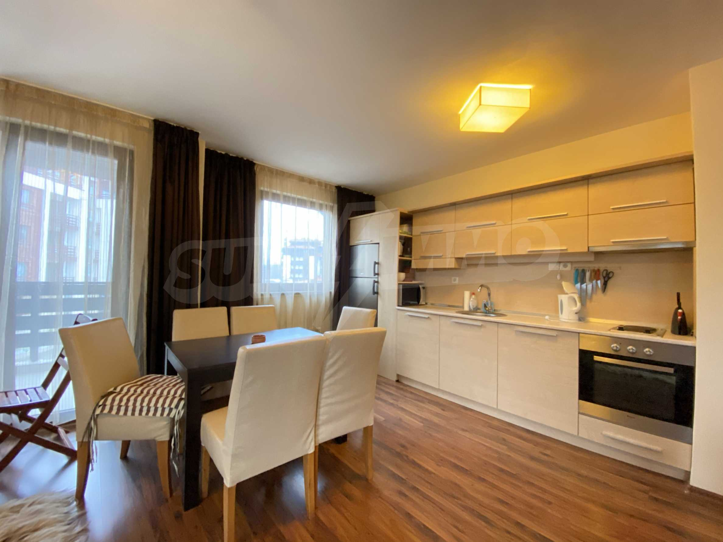Furnished one-bedroom apartment 150 m from the ski lift in Bansko 12