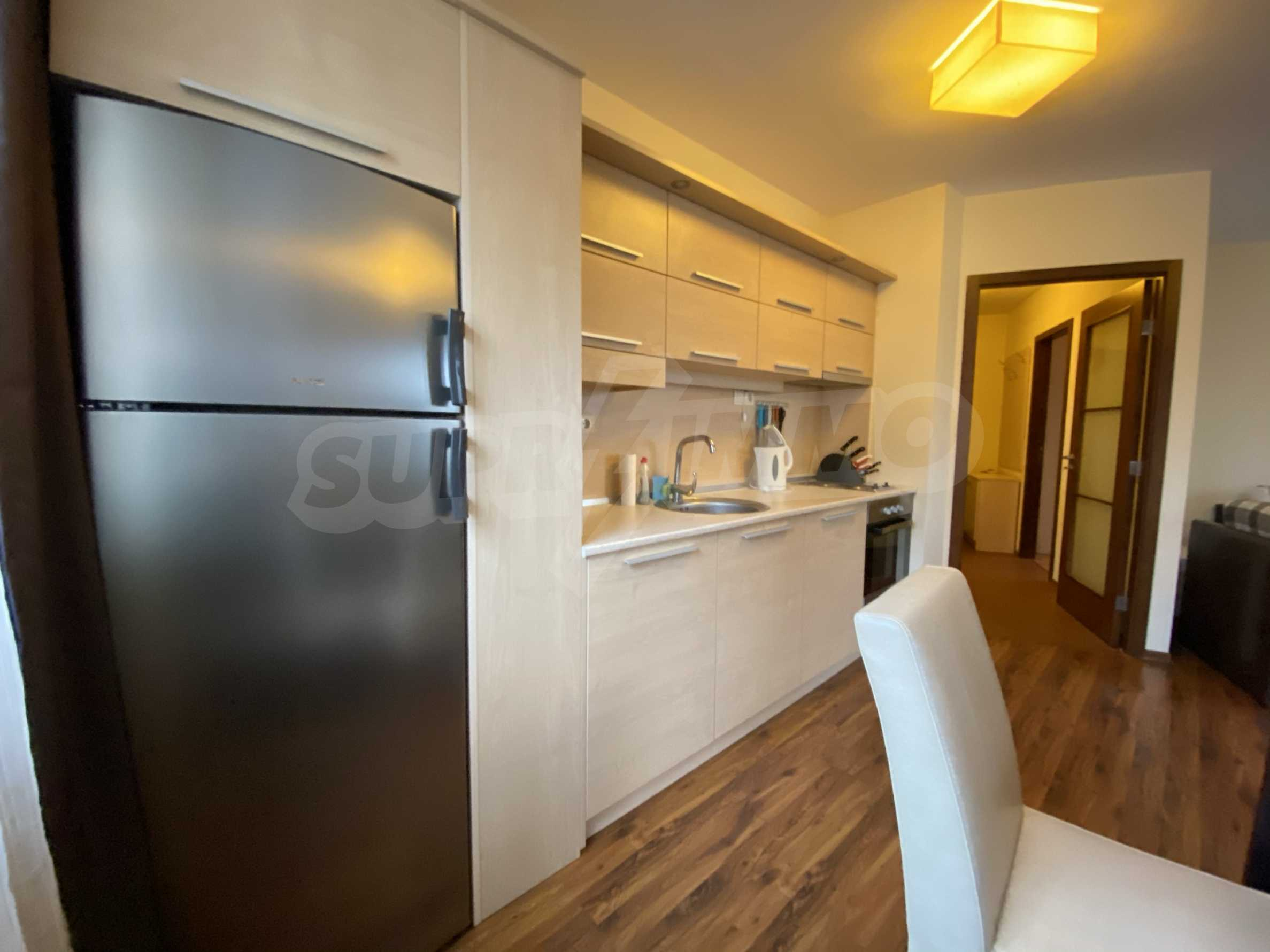 Furnished one-bedroom apartment 150 m from the ski lift in Bansko 13
