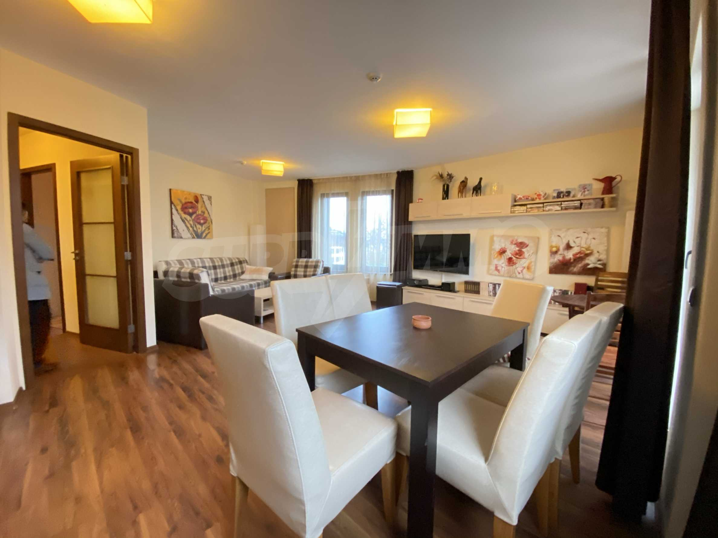 Furnished one-bedroom apartment 150 m from the ski lift in Bansko 14