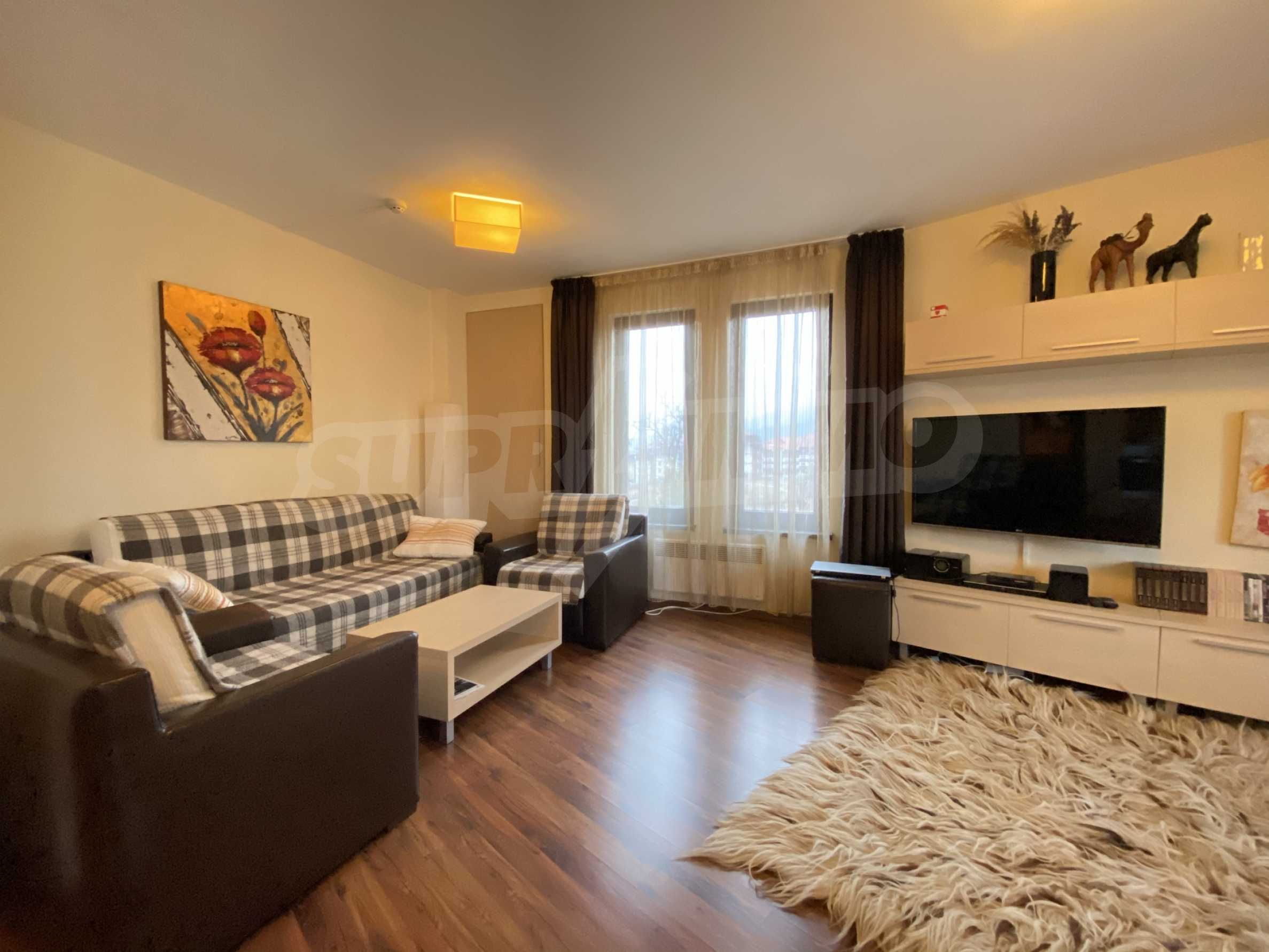 Furnished one-bedroom apartment 150 m from the ski lift in Bansko 15