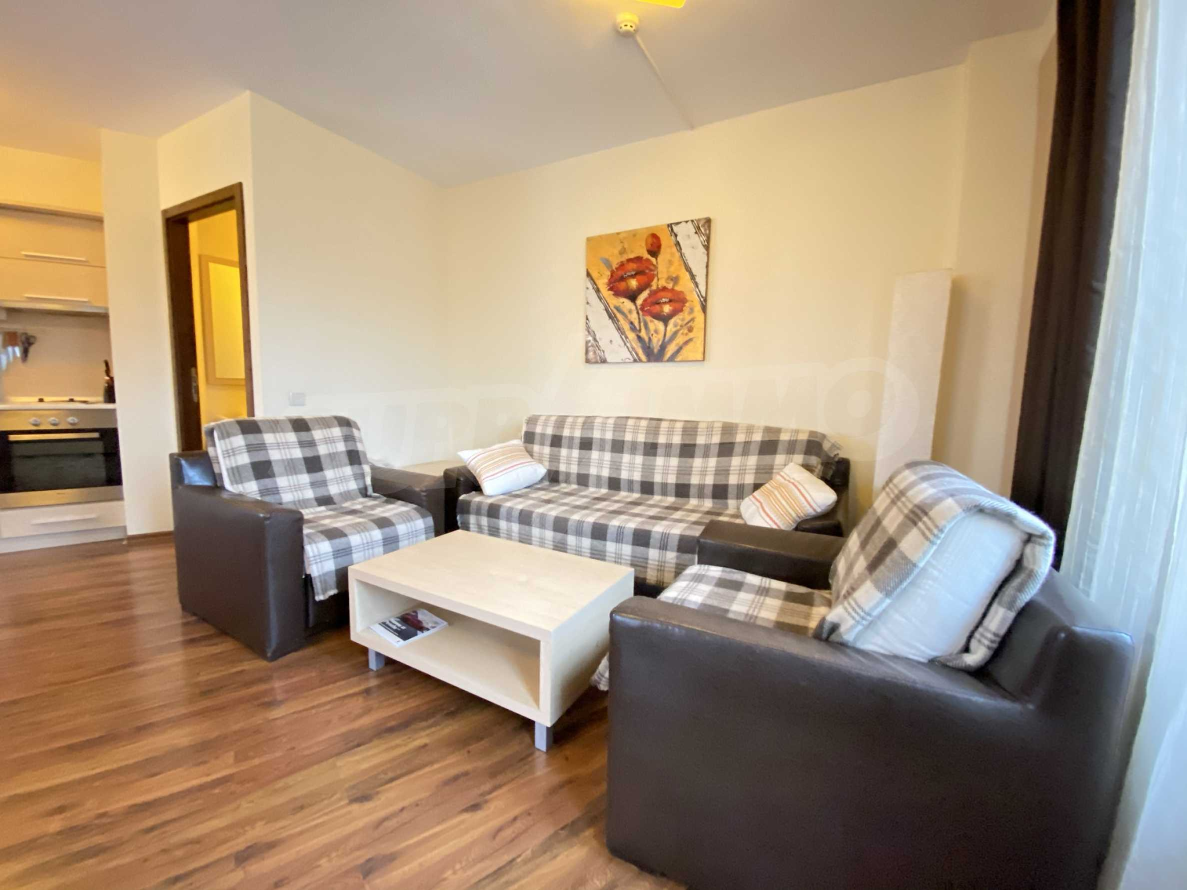 Furnished one-bedroom apartment 150 m from the ski lift in Bansko 16