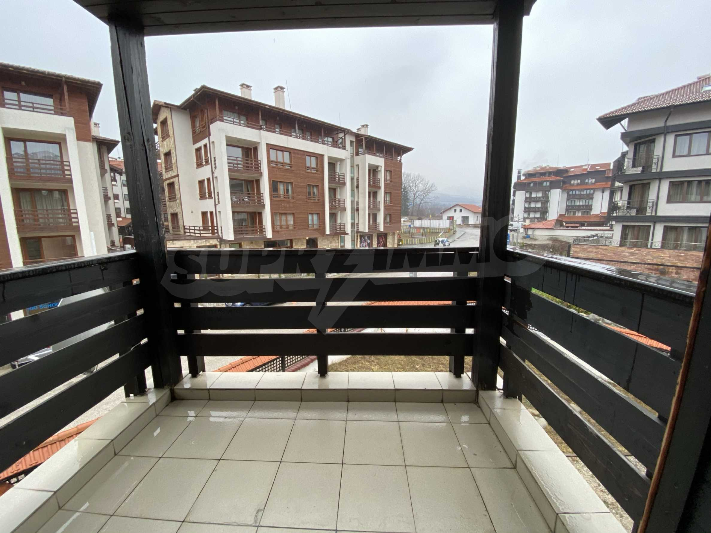 Furnished one-bedroom apartment 150 m from the ski lift in Bansko 2