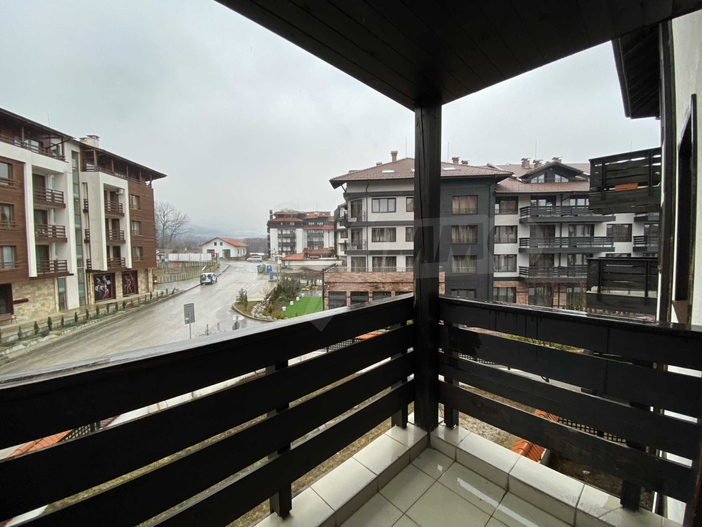 Furnished one-bedroom apartment 150 m from the ski lift in Bansko 3