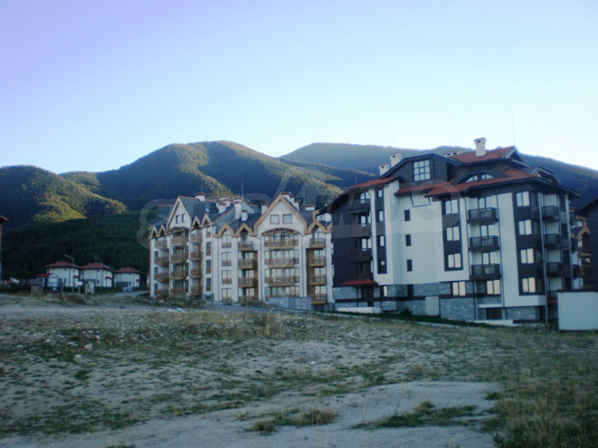 Regulated plot with investment project for construction of apart-hotel in Bansko 20
