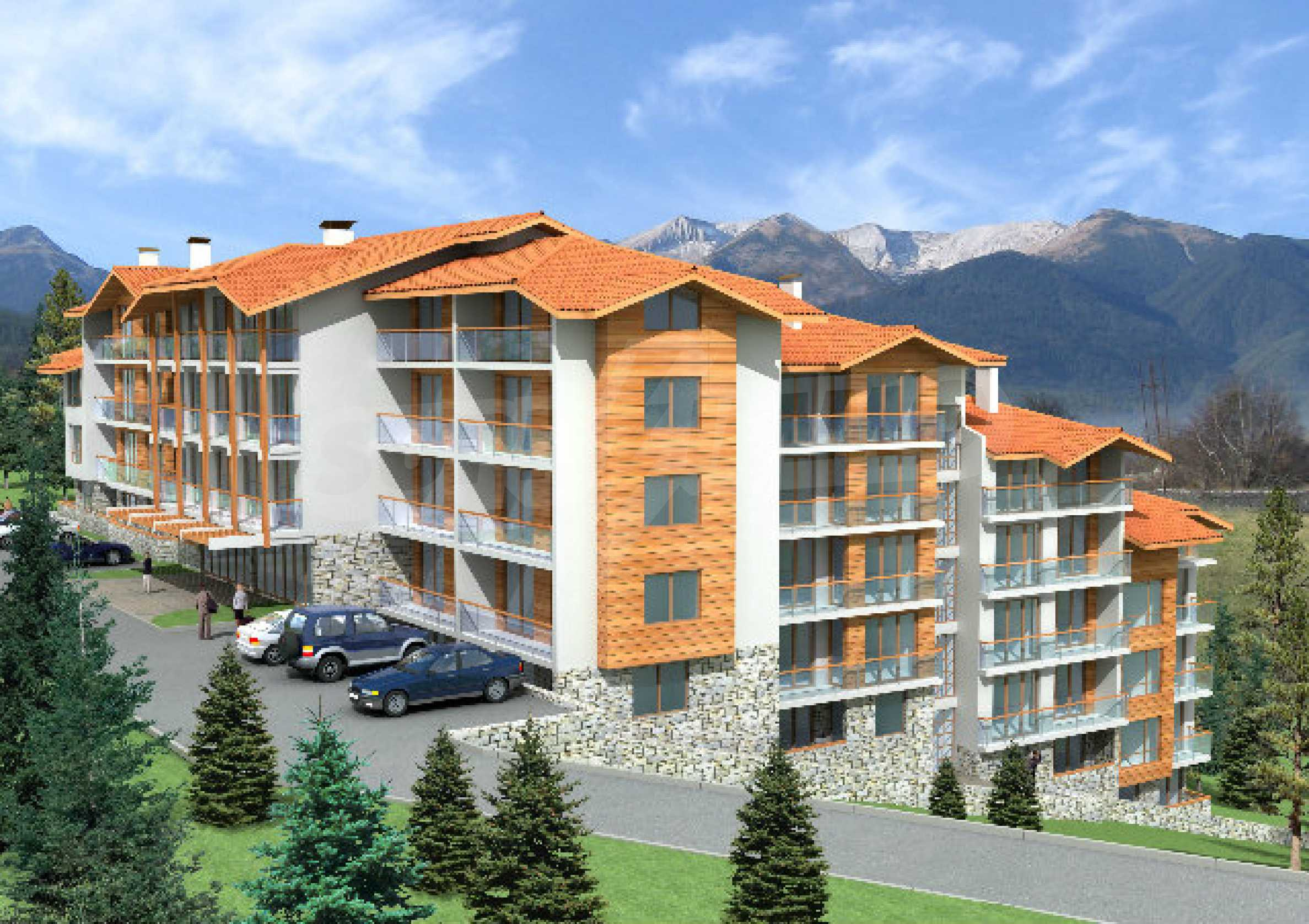Regulated plot with investment project for construction of apart-hotel in Bansko 3