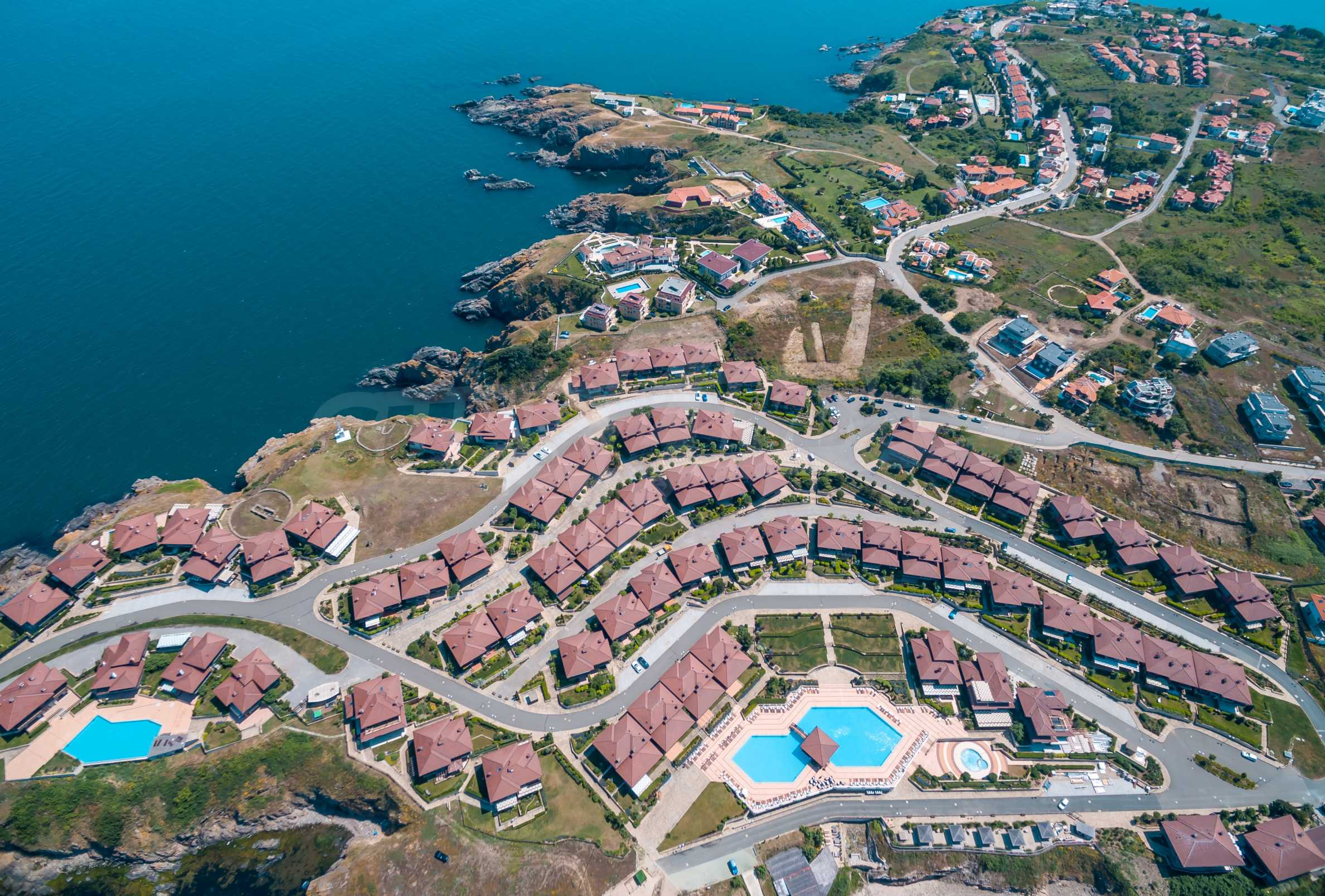 Sozopolis - unique coastal complex of townhouses and apartments near Sozopol 56