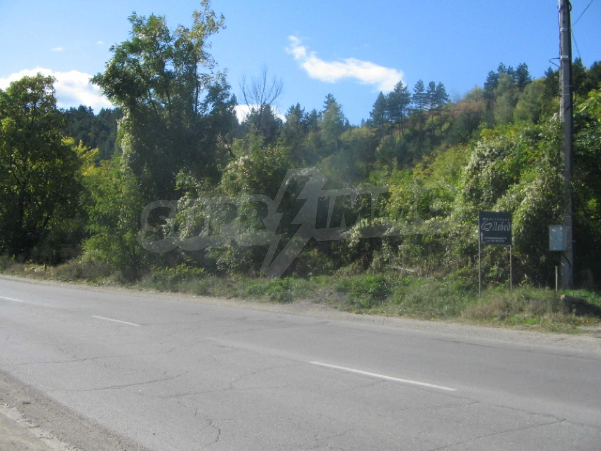 Plot for sale on the ring road.