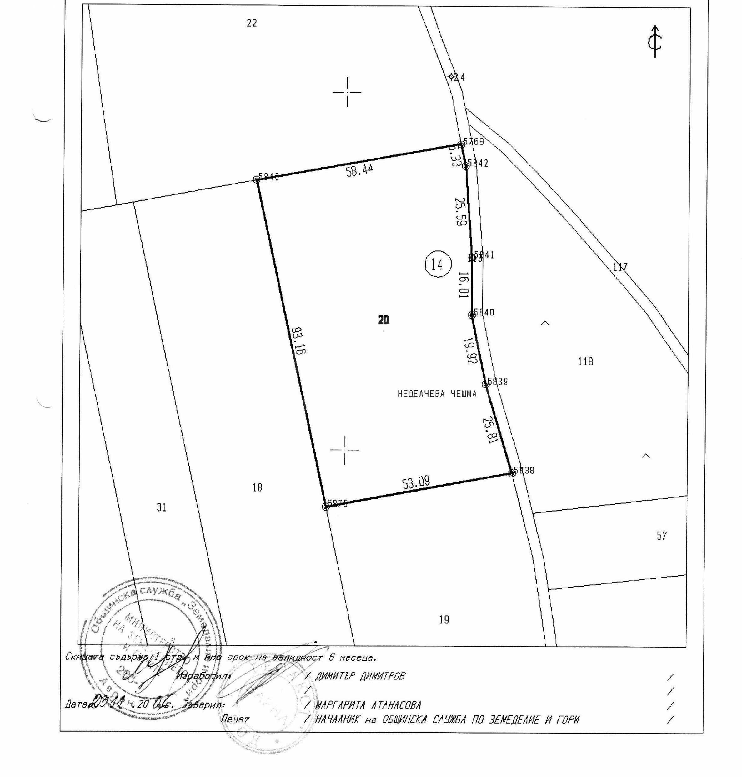 Development land in Zdravets 1