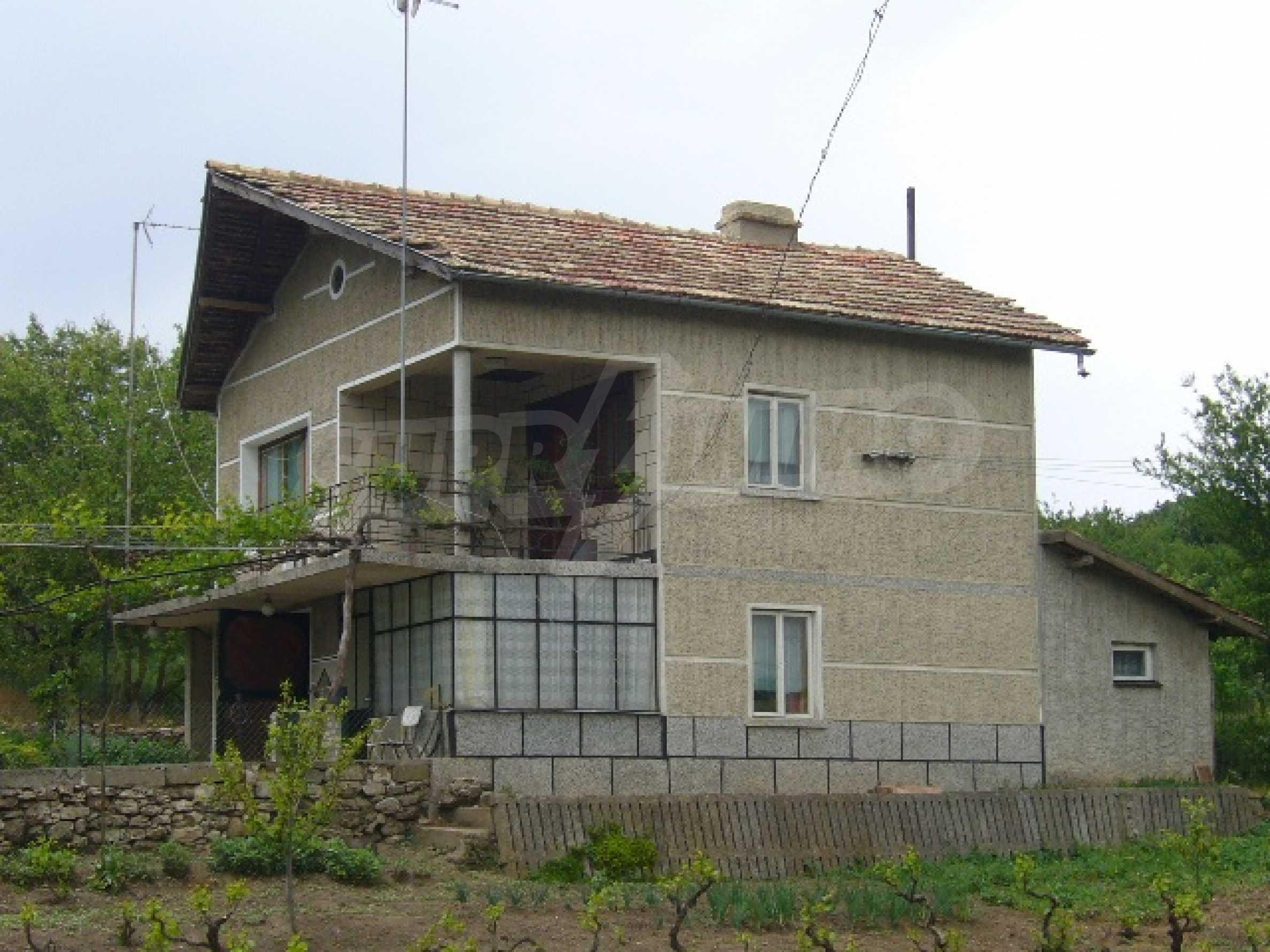 Zweistöckiges Haus bei Dobrich