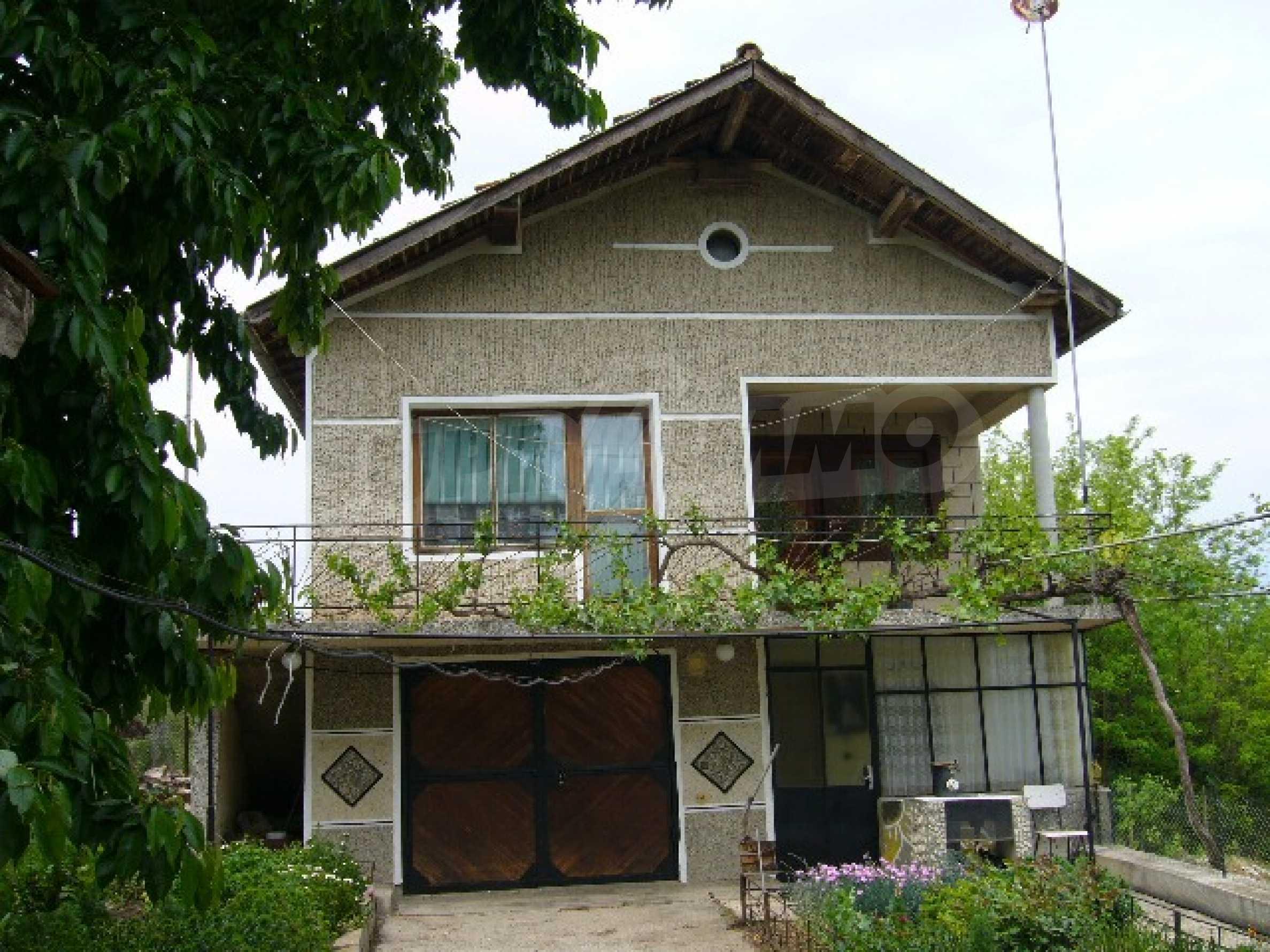 Zweistöckiges Haus bei Dobrich 1