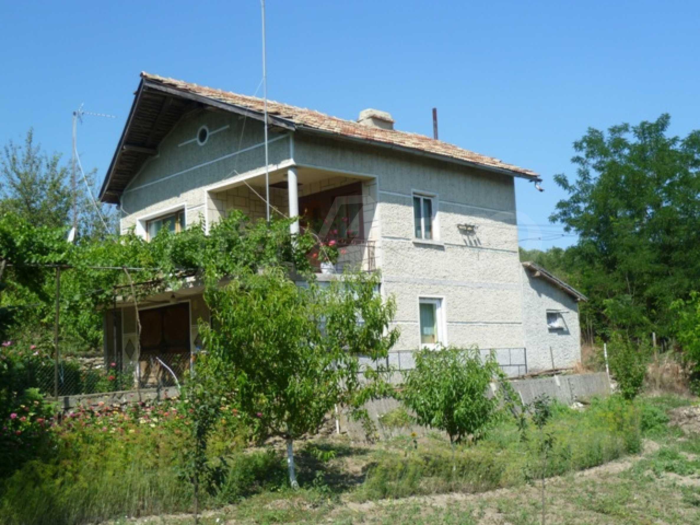 Zweistöckiges Haus bei Dobrich 2