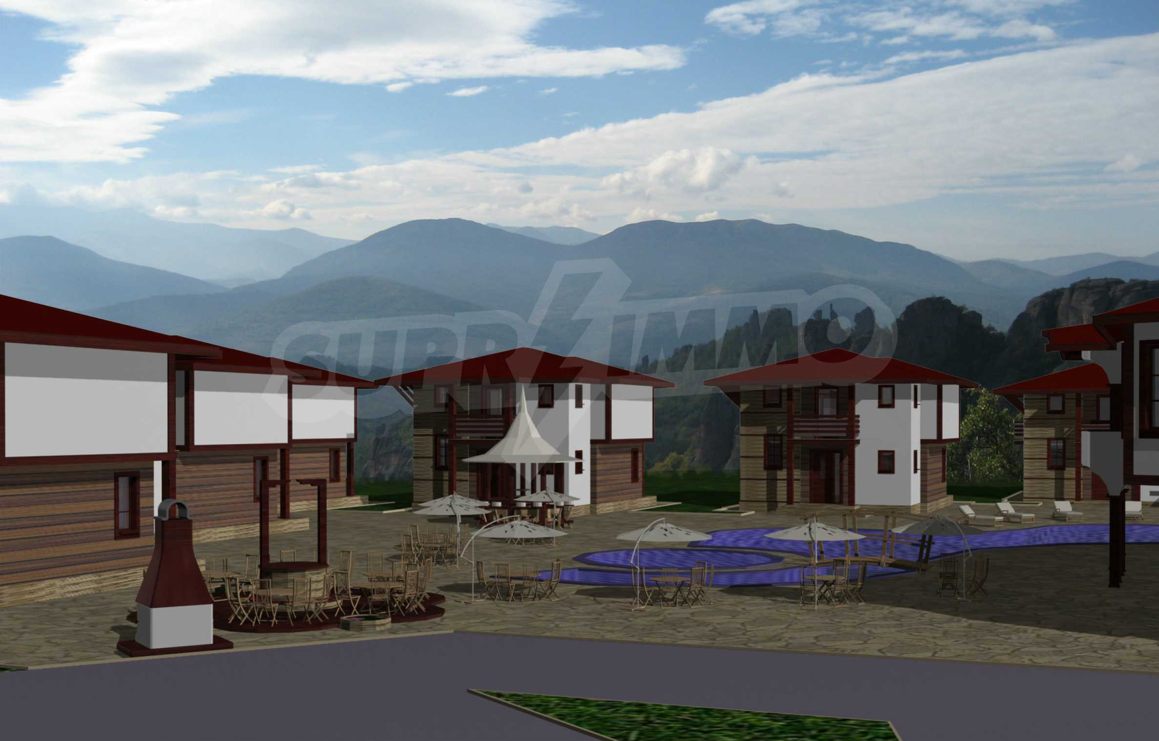 Regulated plot of land with project by the Belogradchik rocks 1