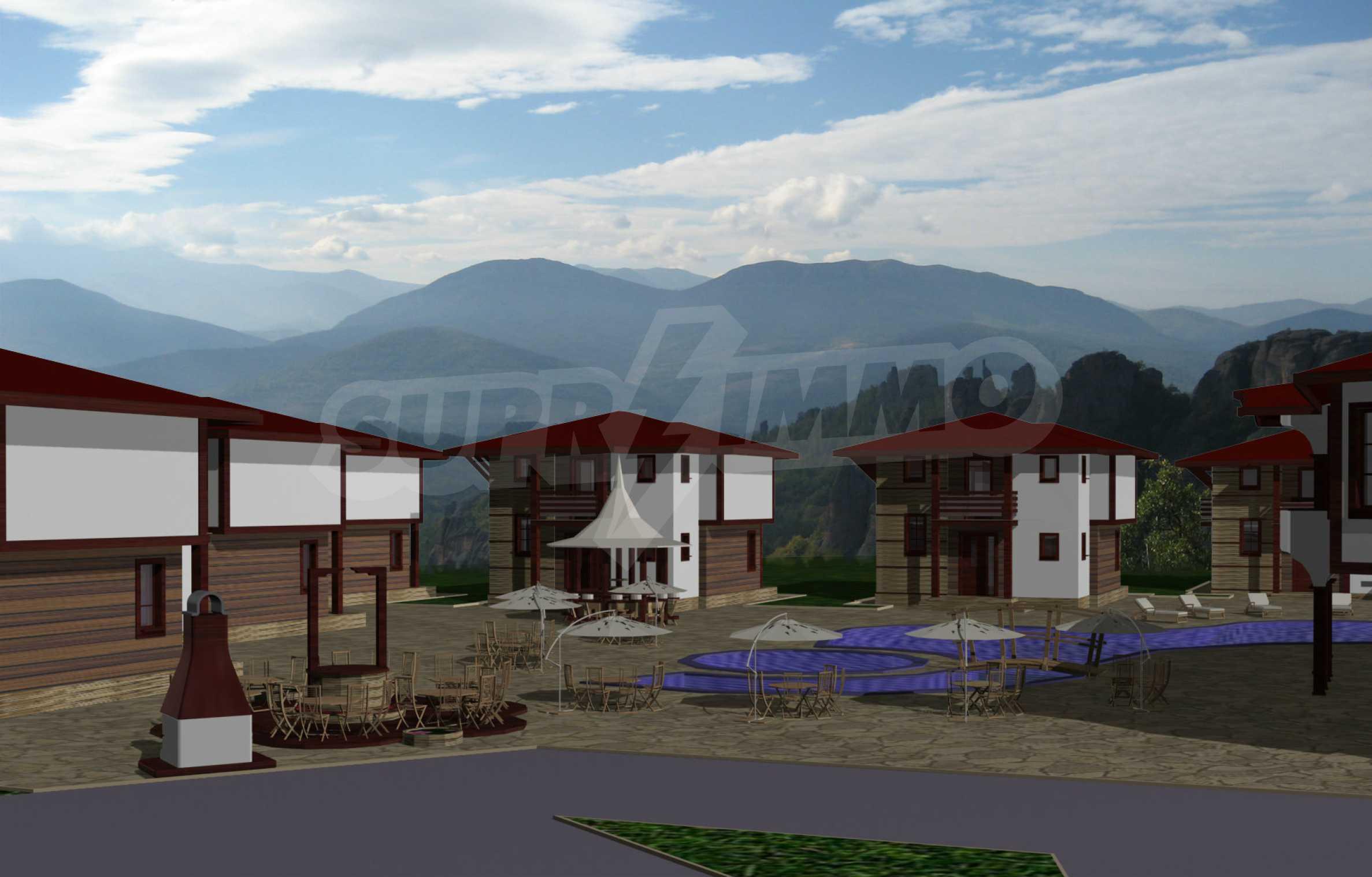 Geregeltes Grundstück mit Projekt in der Nähe von Belogradchik Rocks 1