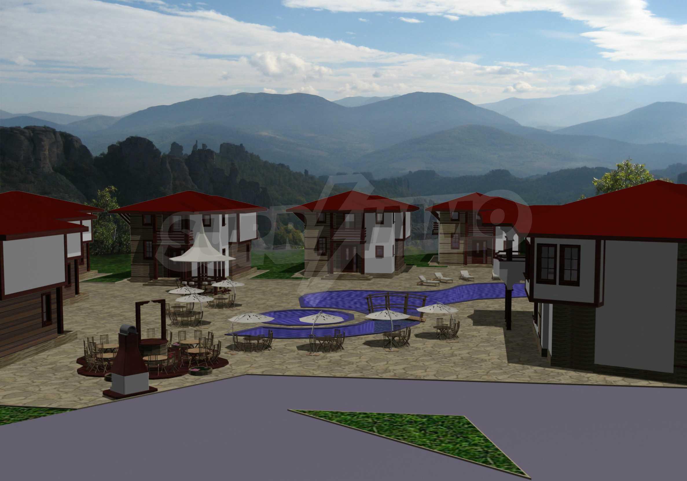 Geregeltes Grundstück mit Projekt in der Nähe von Belogradchik Rocks 2