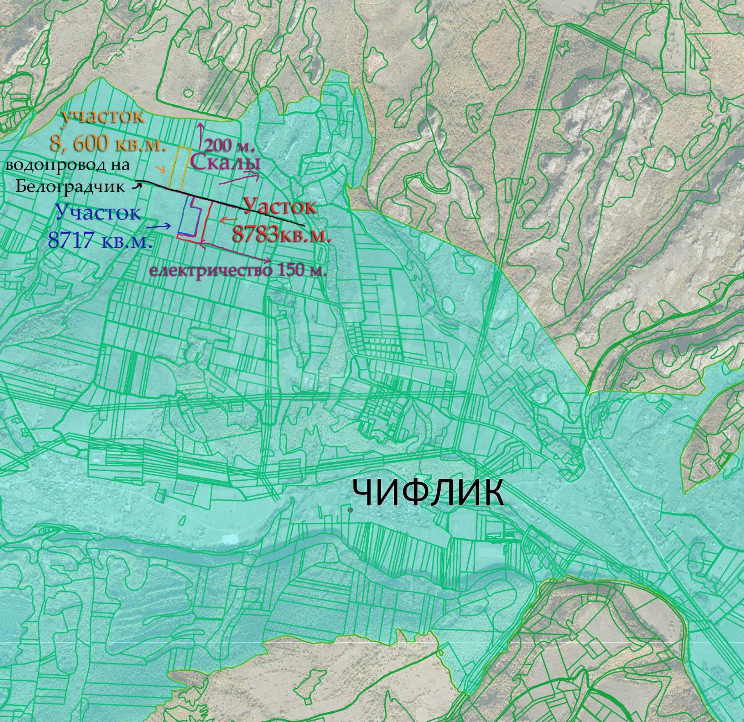 Geregeltes Grundstück mit Projekt in der Nähe von Belogradchik Rocks 3