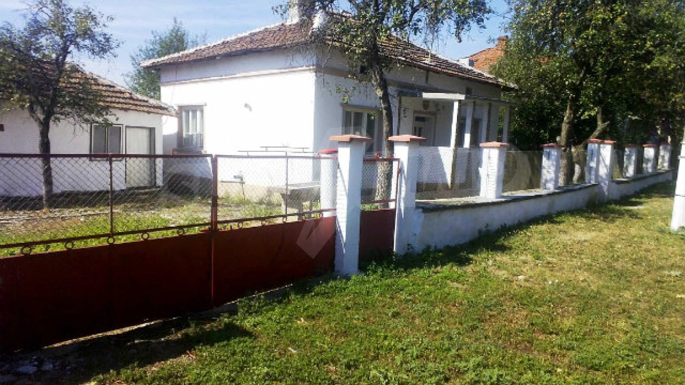 Massives einstöckiges Haus mit Küche in einem kleinen Dorf 40 km von Vidin entfernt