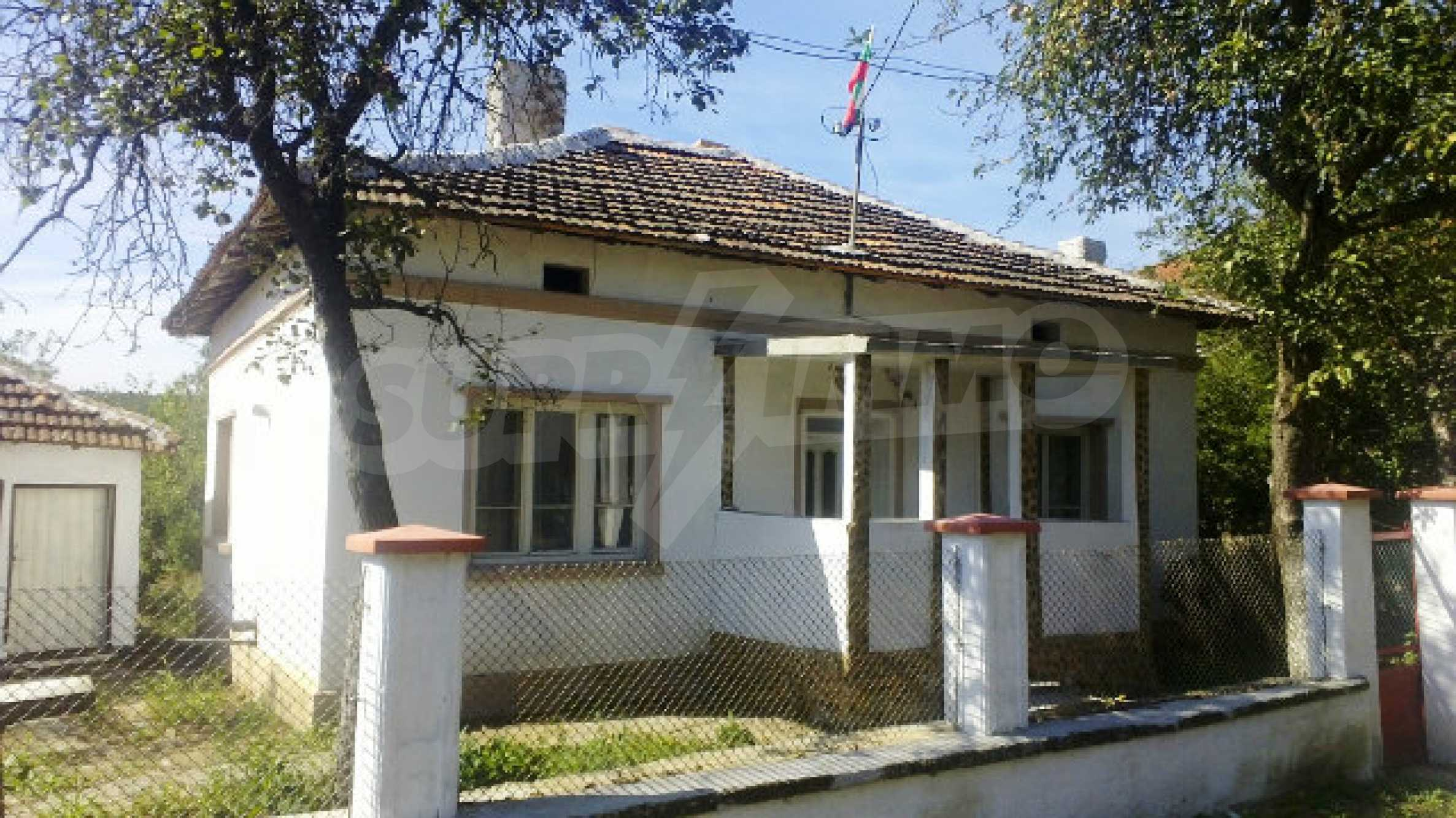 Massives einstöckiges Haus mit Küche in einem kleinen Dorf 40 km von Vidin entfernt 1