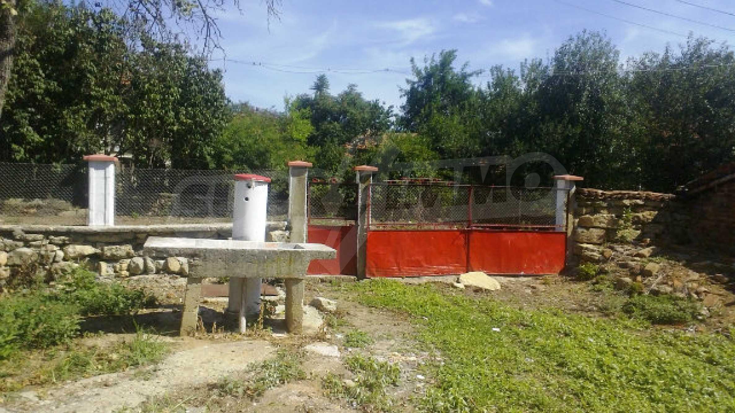 Massives einstöckiges Haus mit Küche in einem kleinen Dorf 40 km von Vidin entfernt 30
