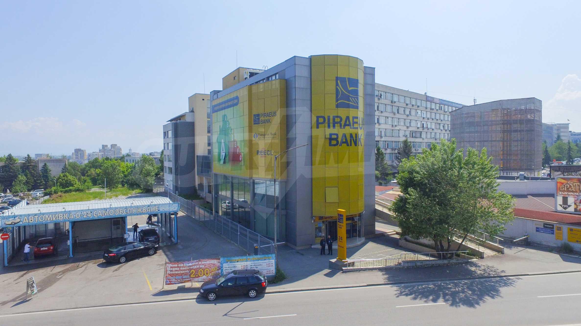 Площи тип open space в офис зоната на бул. Цариградско шосе 41