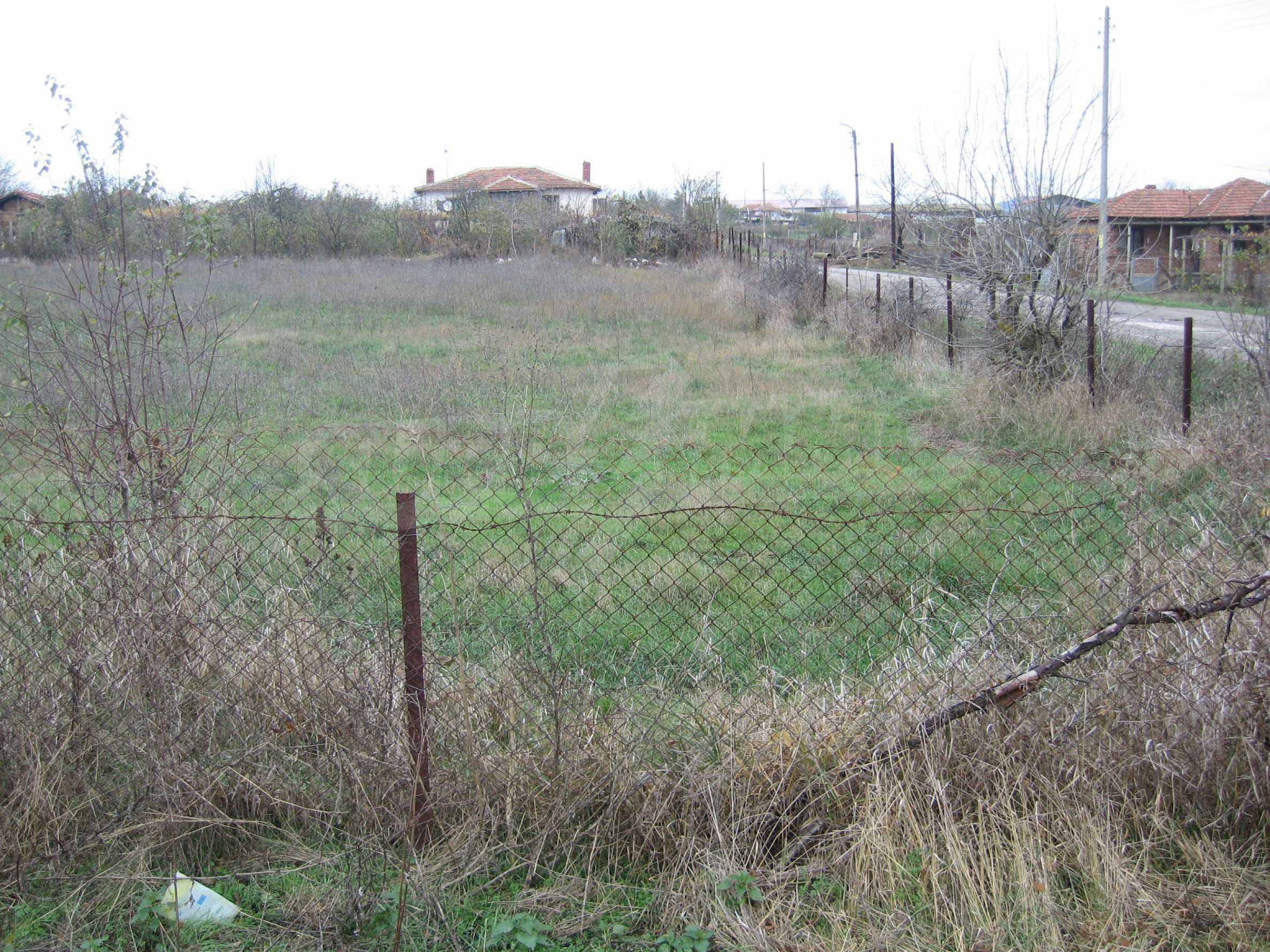 Regulated plot of land for private house 30 km from Yambol 7