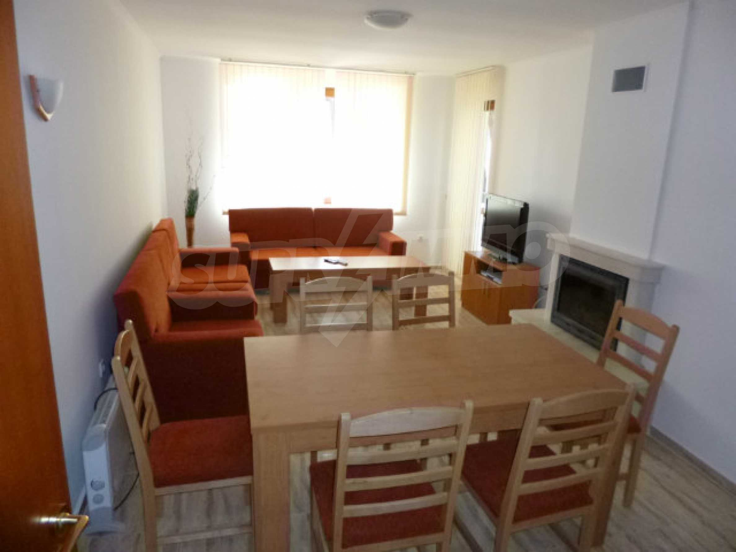 Cozy two-bedroom apartment in apart-hotel Monastery 3 in Pamporovo 1