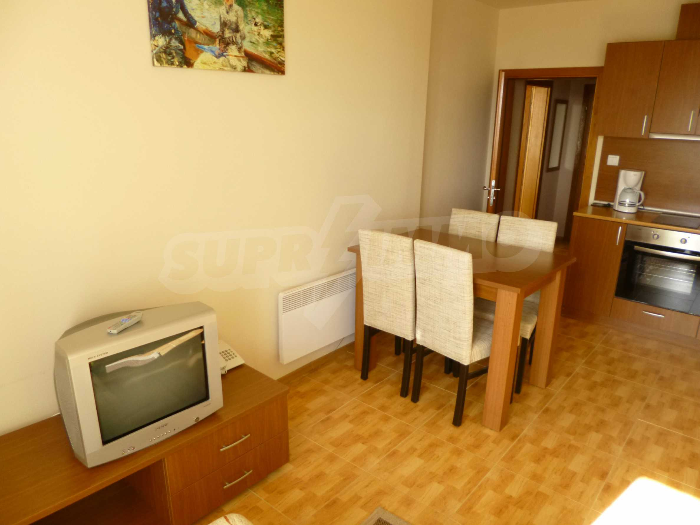 Elegant fully equipped and furnished 1-bedroom apartment in the gated complex Lucky Pamporovo 3