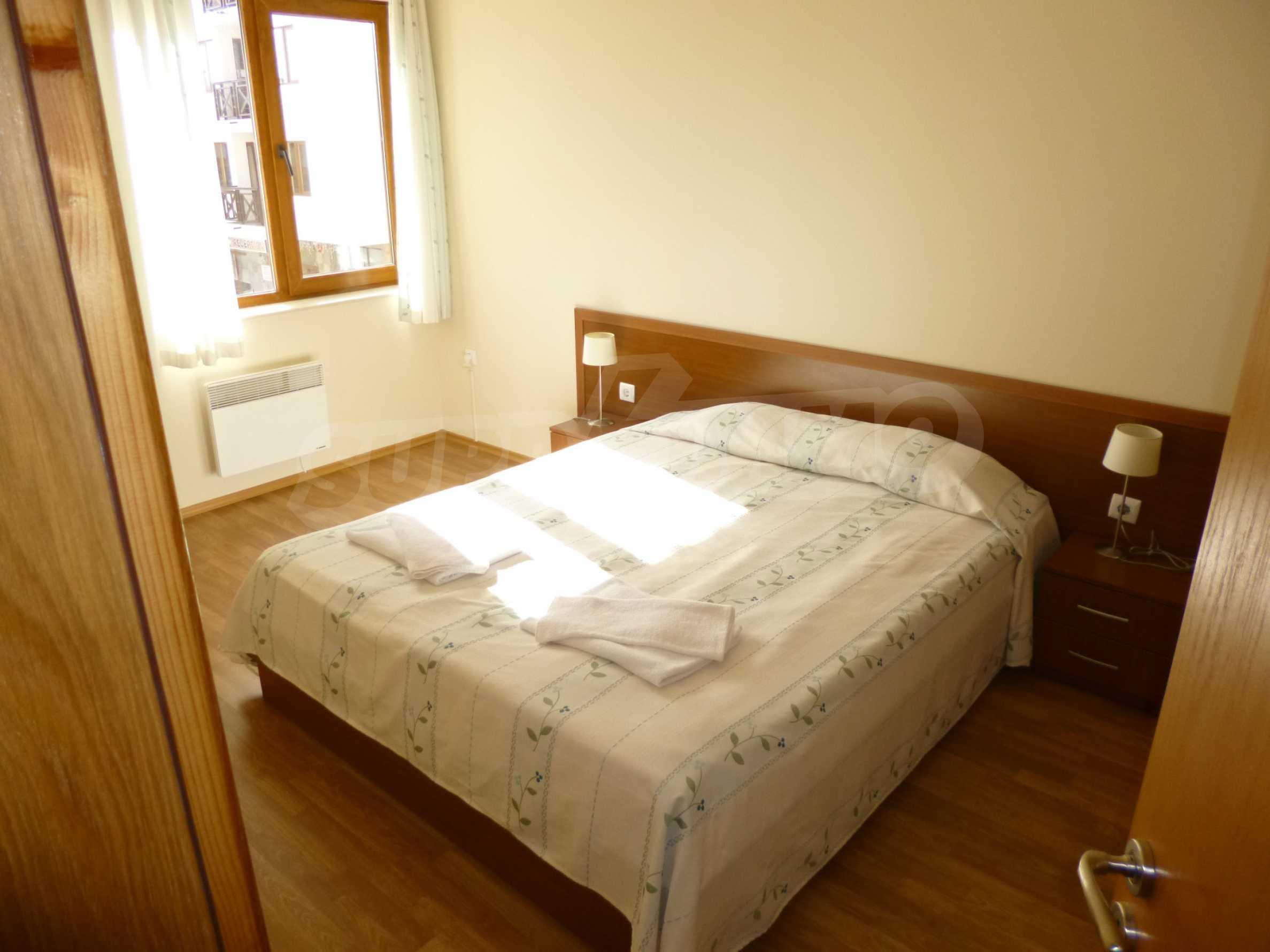 """Elegant möblierte und möblierte 1-Zimmer-Wohnung in einer geschlossenen Anlage """"Lucky Pamporovo"""" 6"""