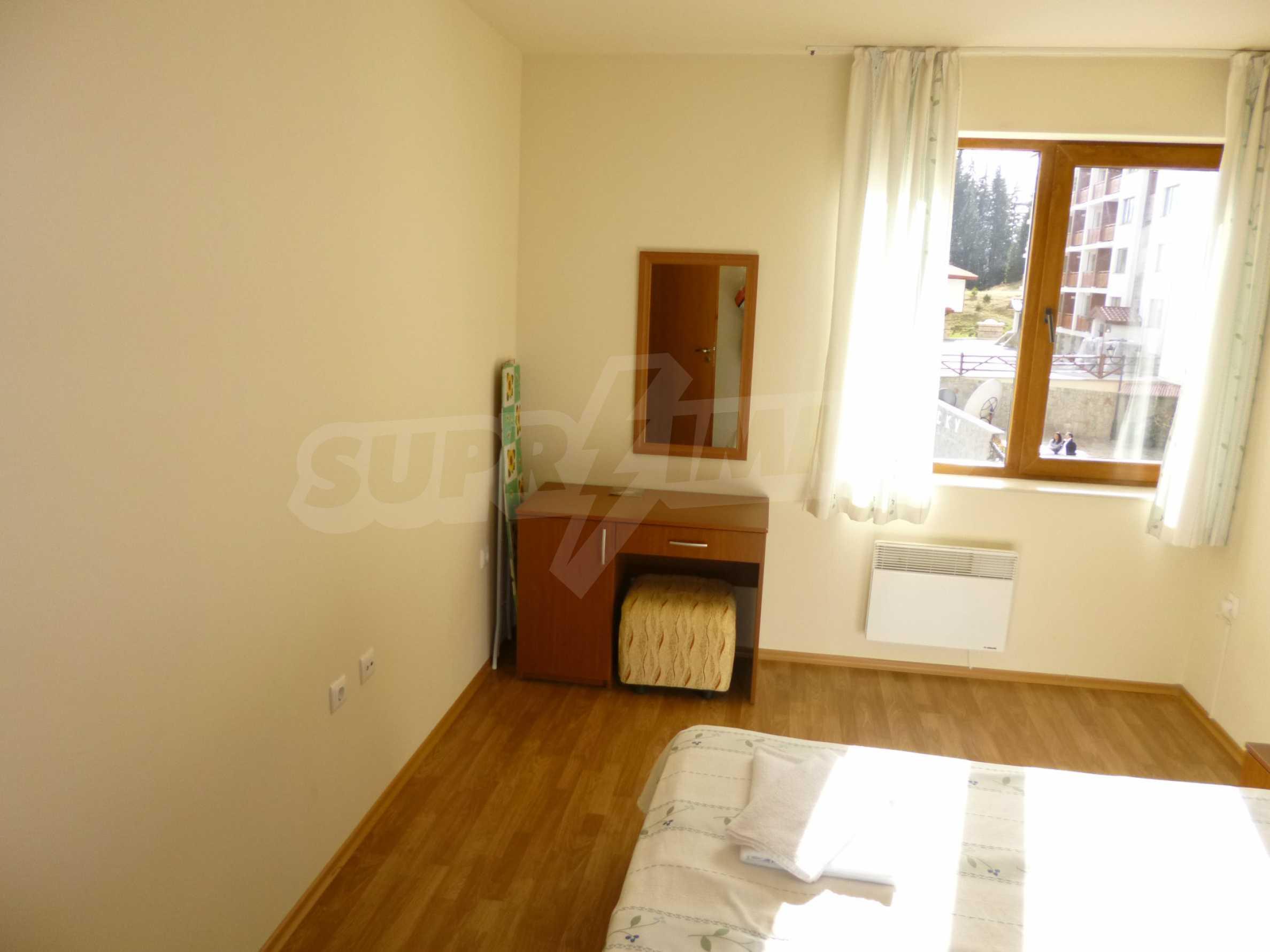 """Elegant möblierte und möblierte 1-Zimmer-Wohnung in einer geschlossenen Anlage """"Lucky Pamporovo"""" 7"""