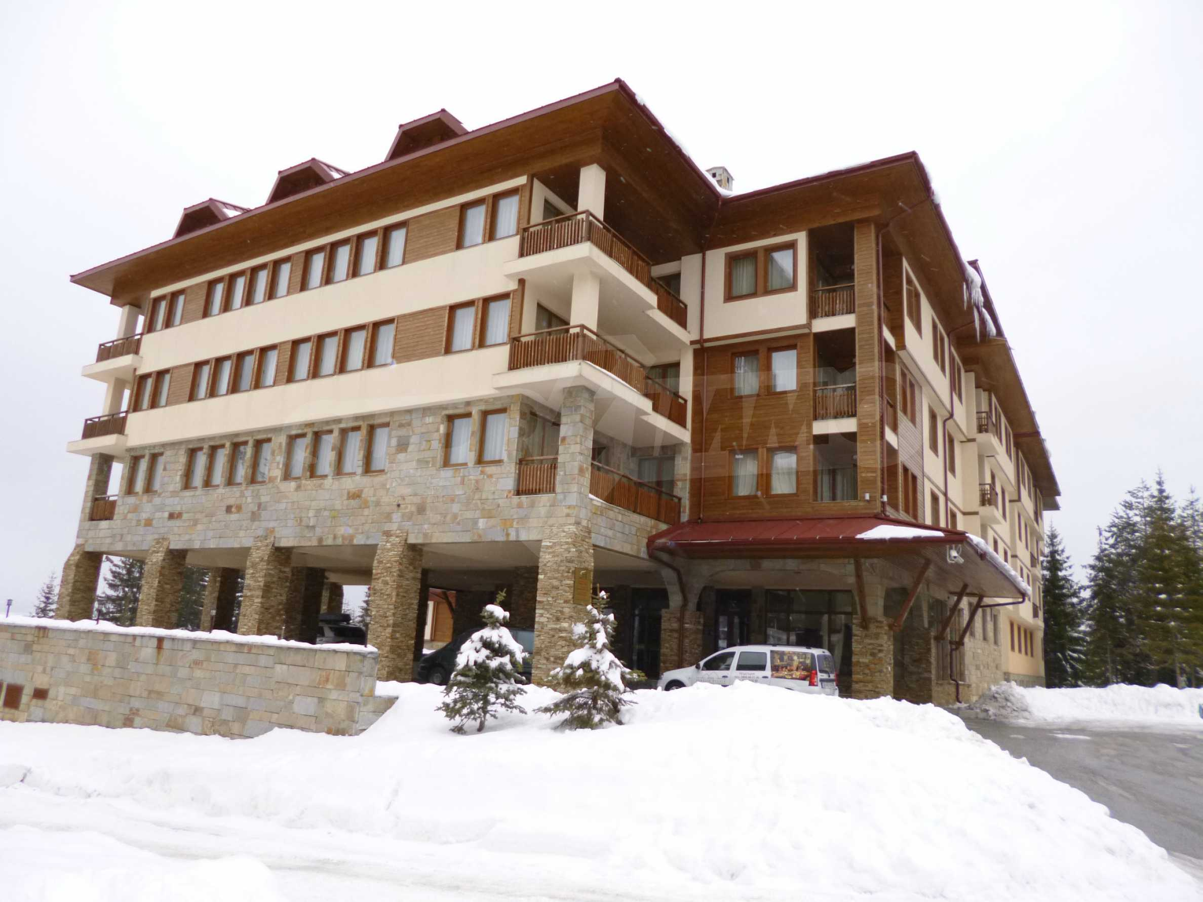 Luxury furnished studio in SPA Hotel Perelik Palace