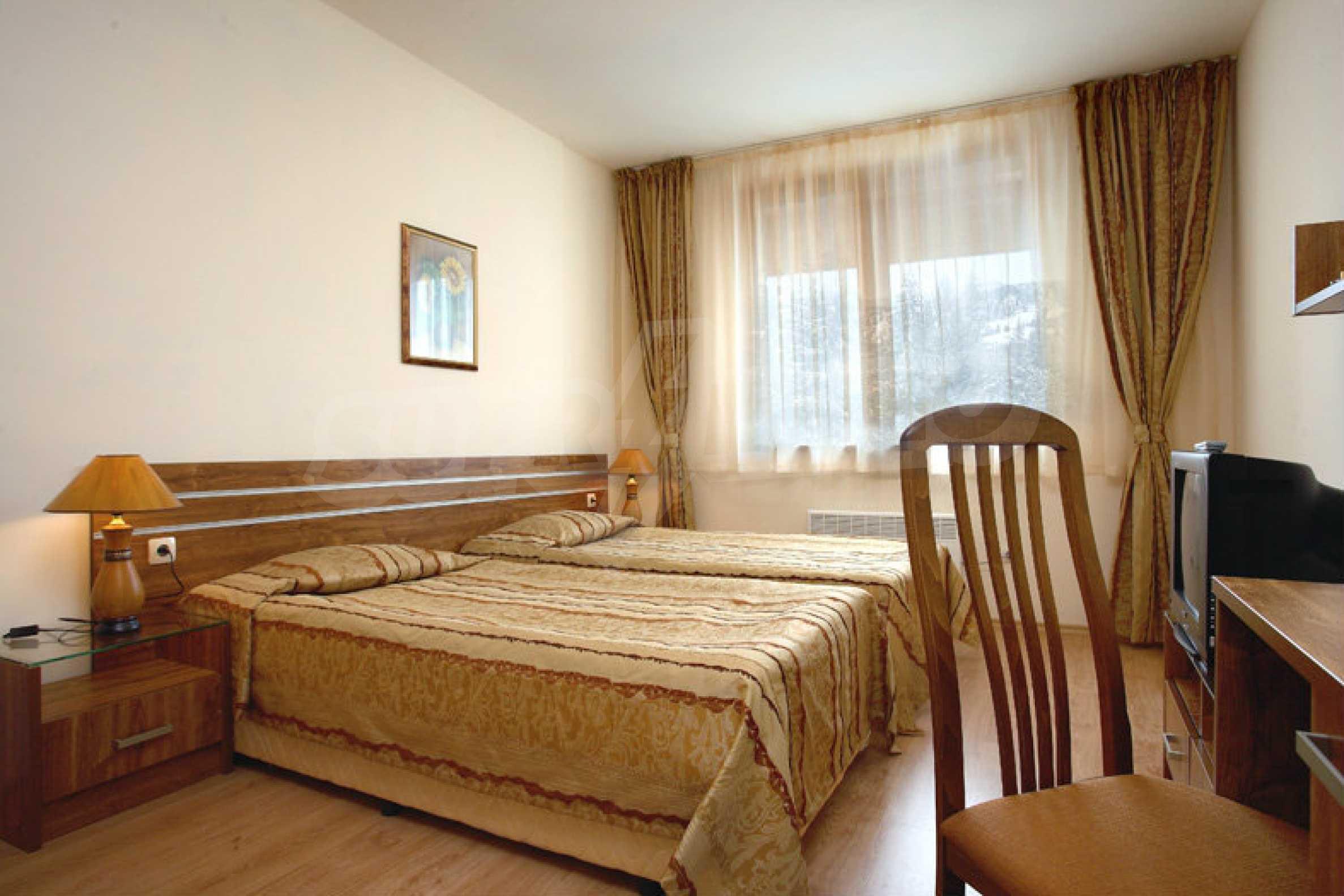 Luxury furnished studio in SPA Hotel Perelik Palace 1