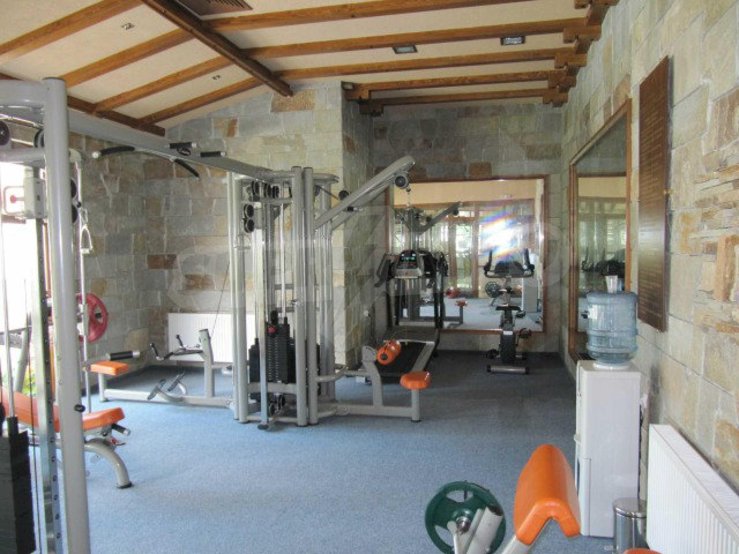 Luxury furnished studio in SPA Hotel Perelik Palace 24