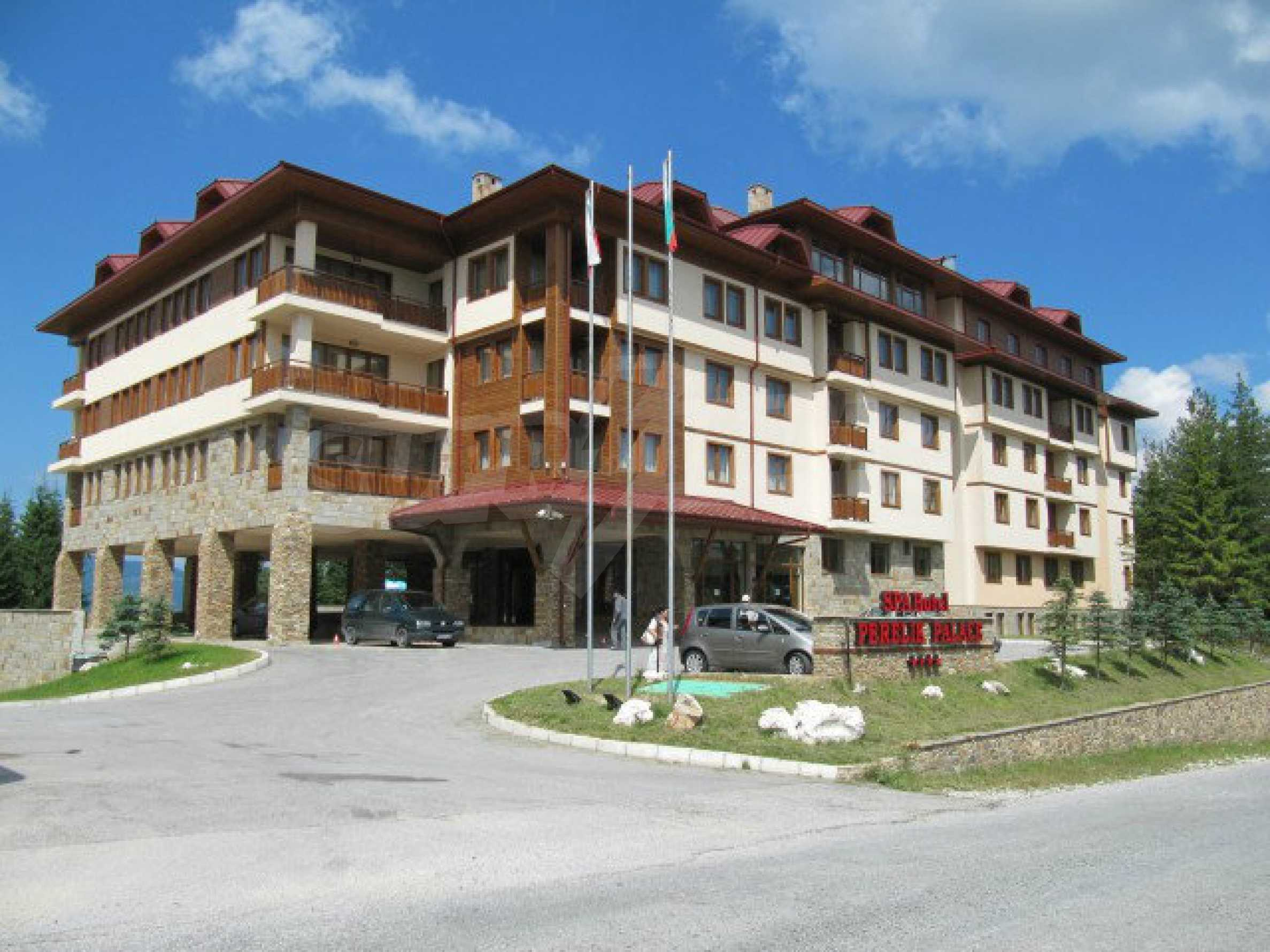 Luxury furnished studio in SPA Hotel Perelik Palace 30