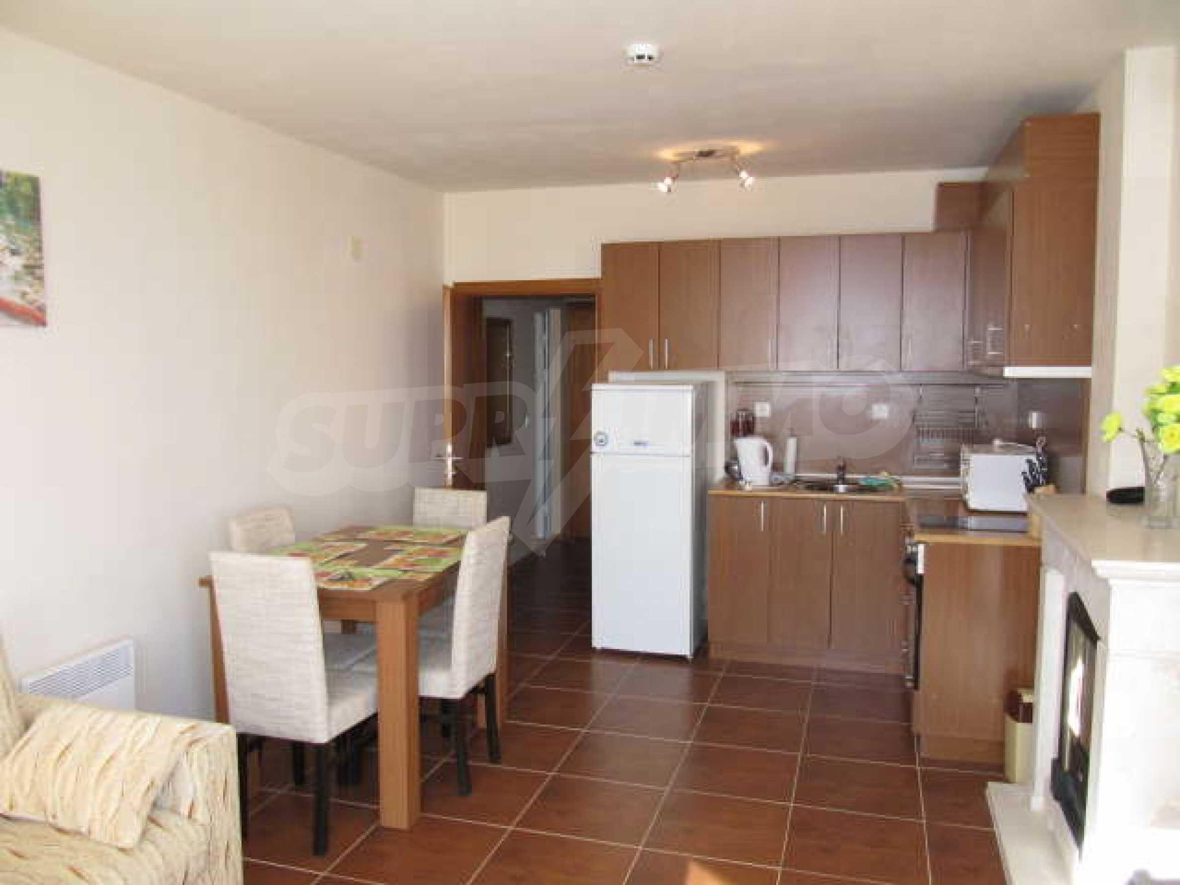 Komplett eingerichtete und ausgestattete Wohnung im Lucky-Komplex in Pamporovo 1