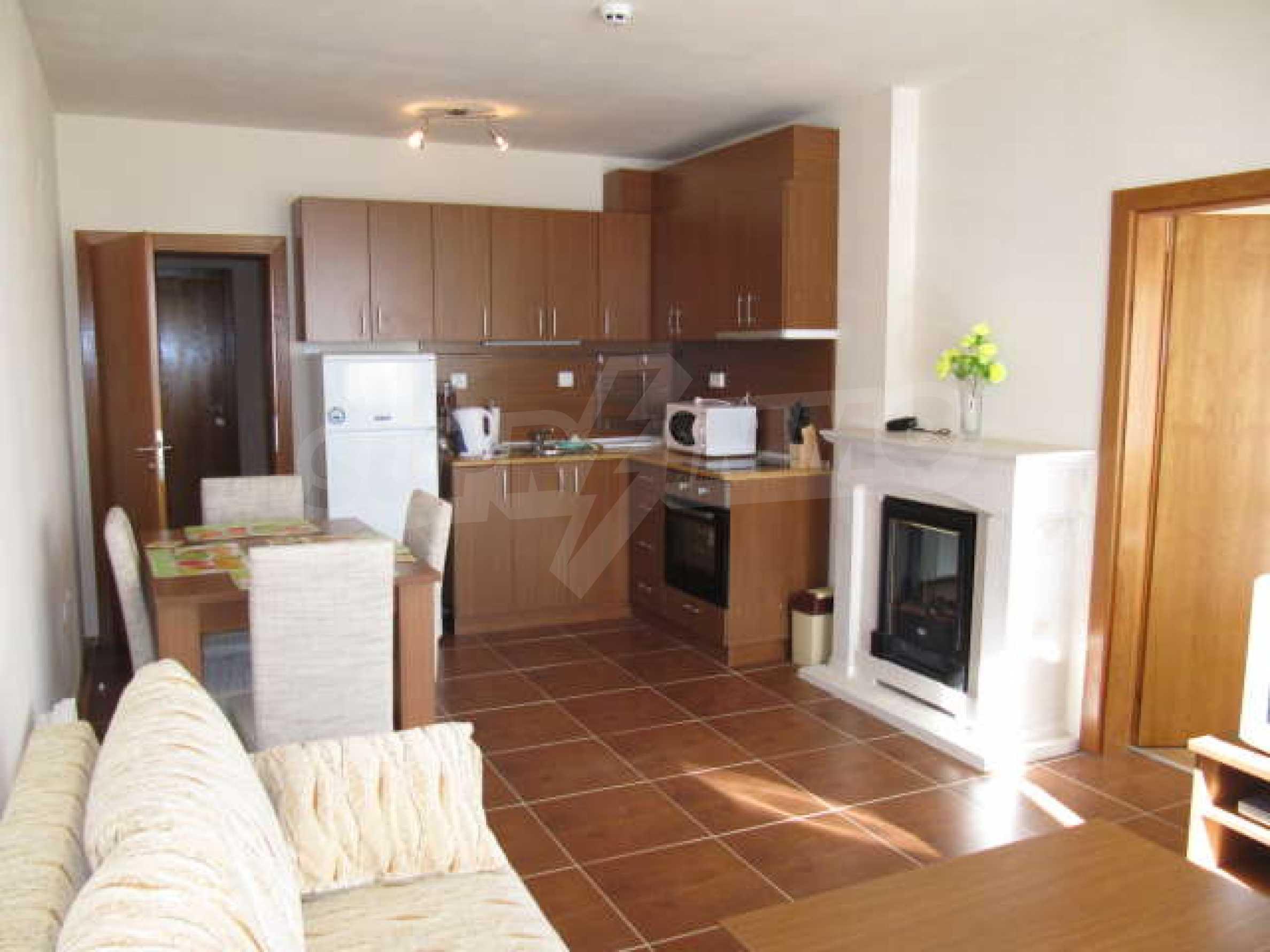 Komplett eingerichtete und ausgestattete Wohnung im Lucky-Komplex in Pamporovo 2