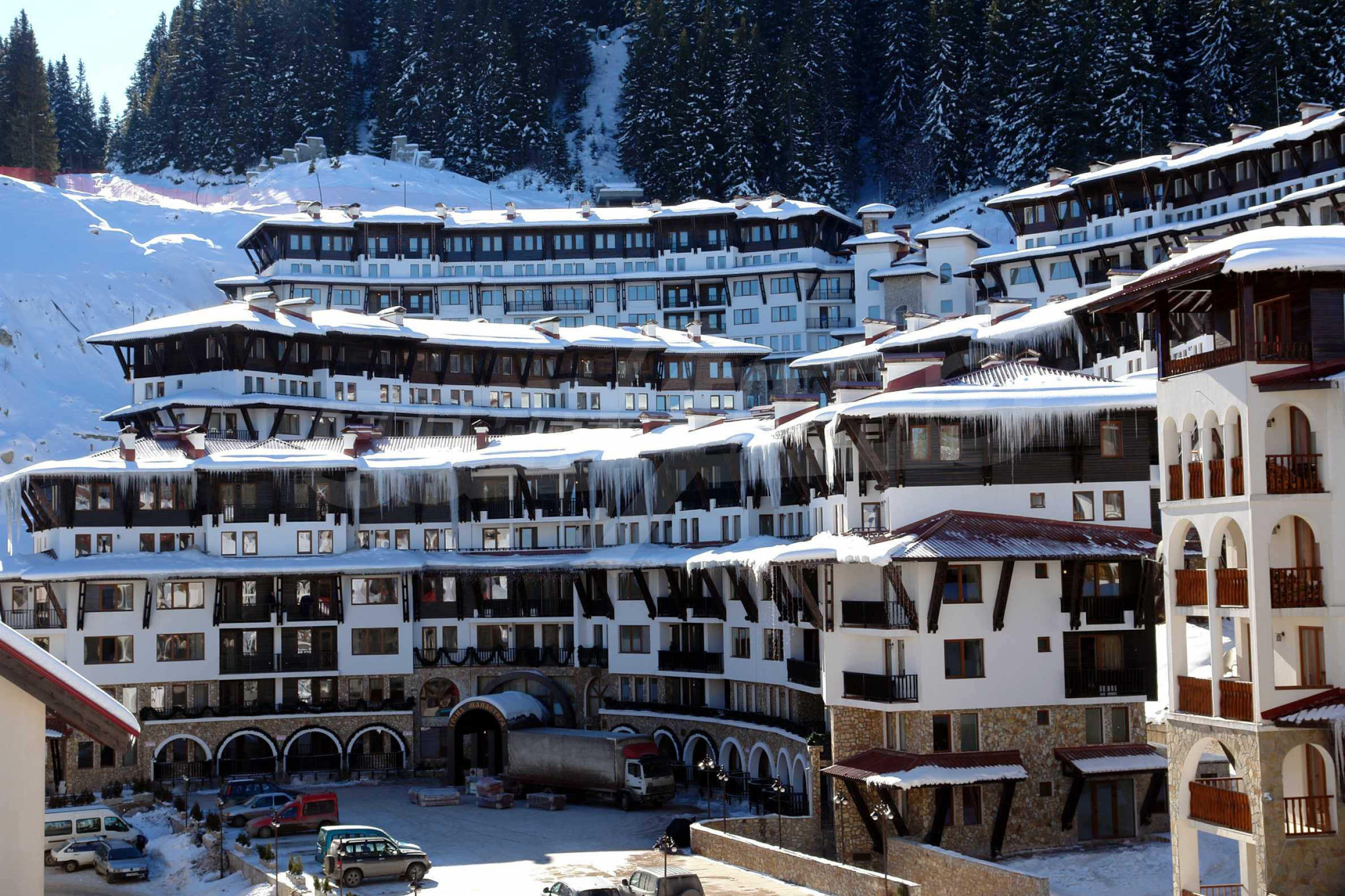 Apartment in the gated complex Grand Monastery in Pamporovo