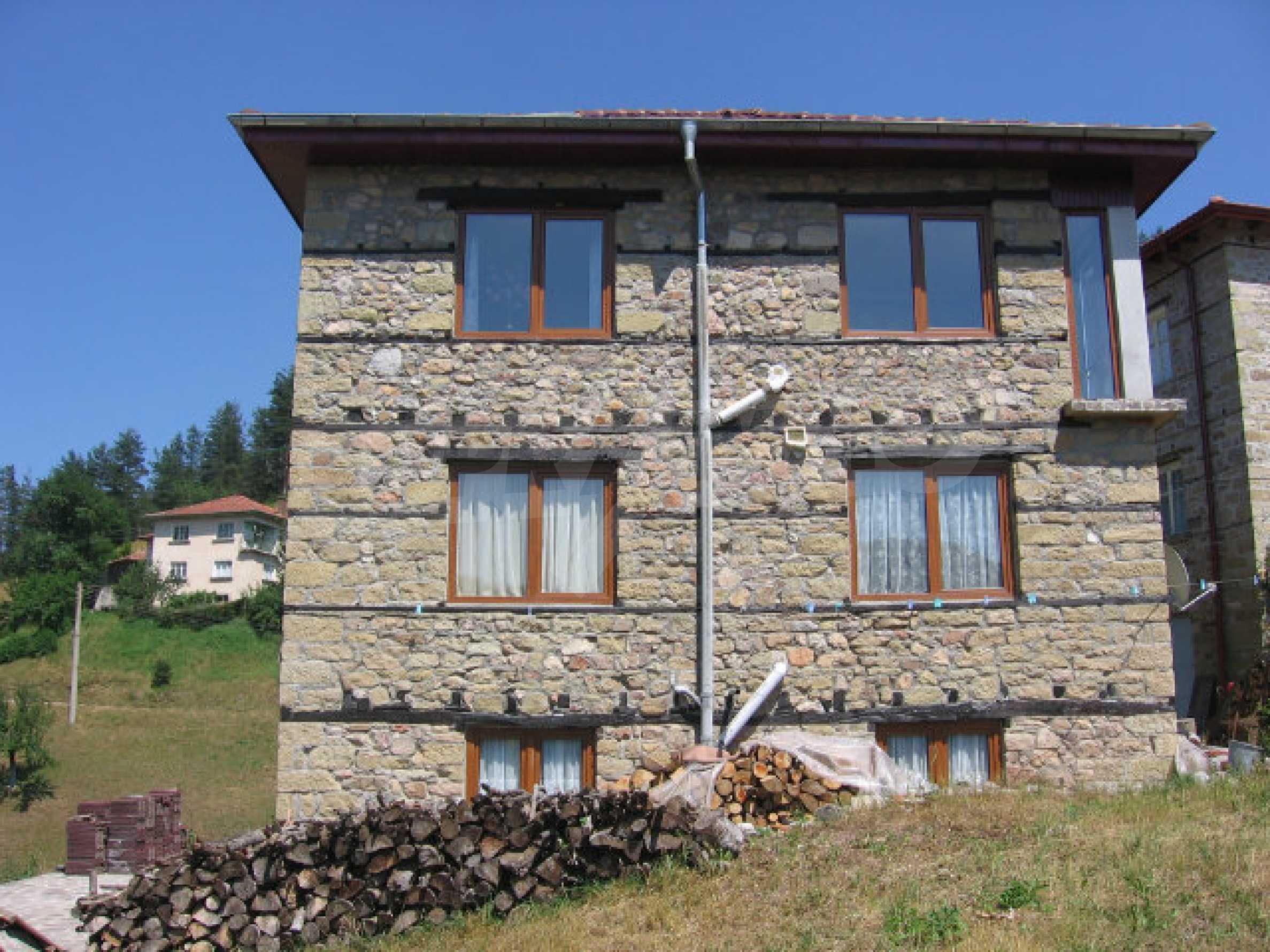 Restored and furnished three-storey house in a quiet village near Smolyan 1