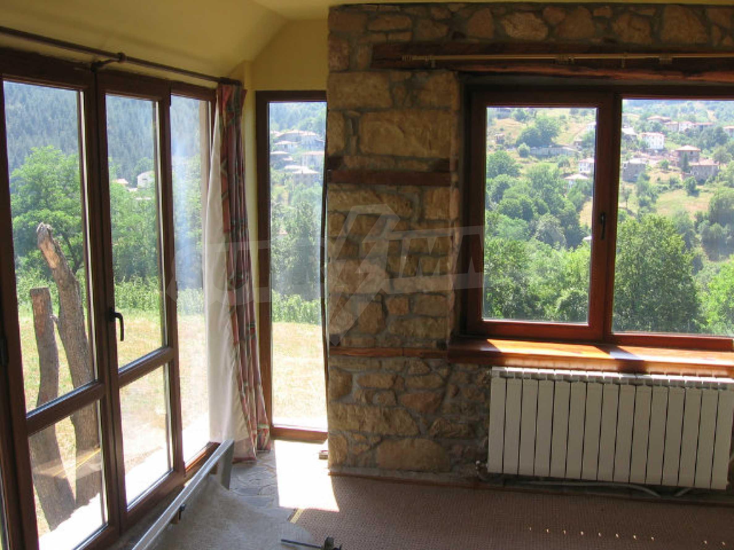 Restored and furnished three-storey house in a quiet village near Smolyan 34