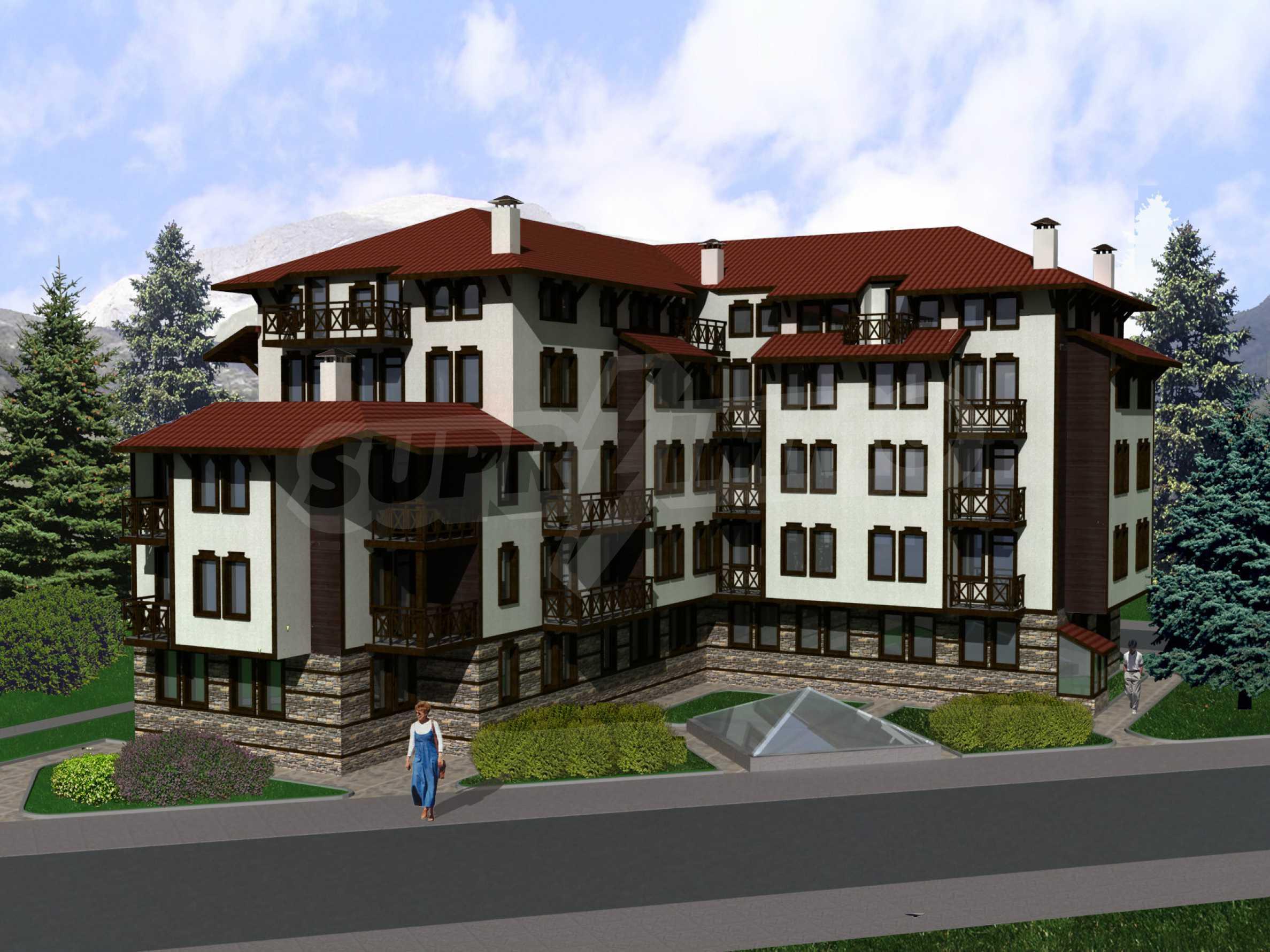 Investitionsprojekt für ein Wohngebäude in Bansko neben dem Kempinski Hotel