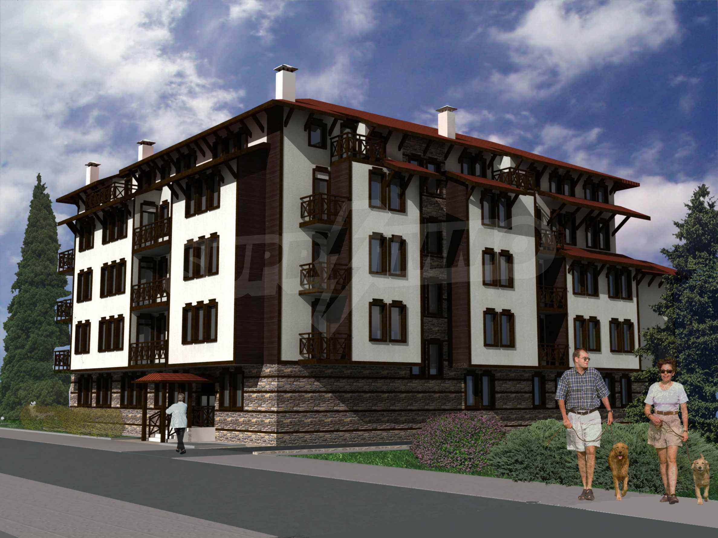 Investitionsprojekt für ein Wohngebäude in Bansko neben dem Kempinski Hotel 1
