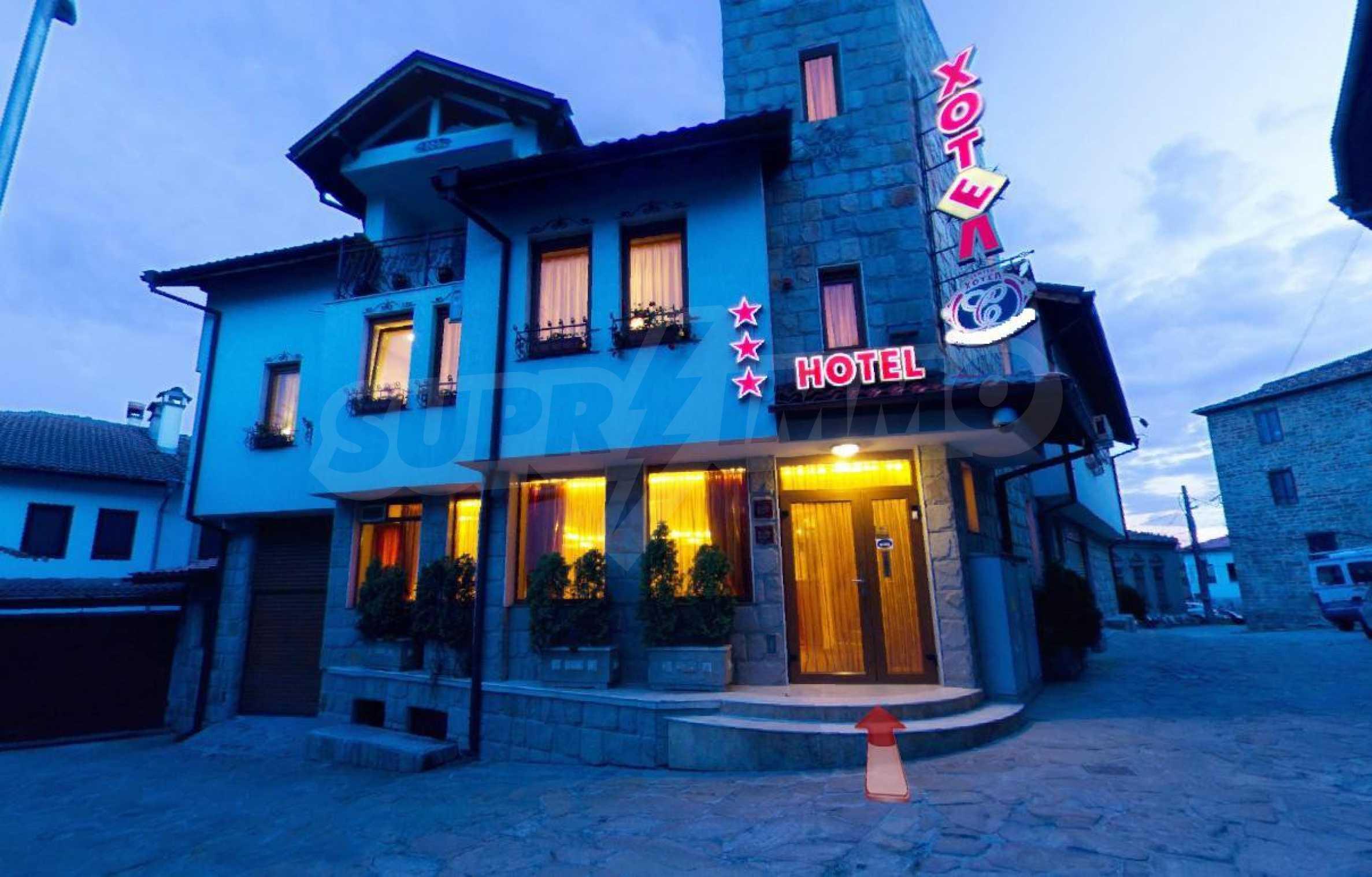 Cozy hotel in the old part of Veliko Tarnovo