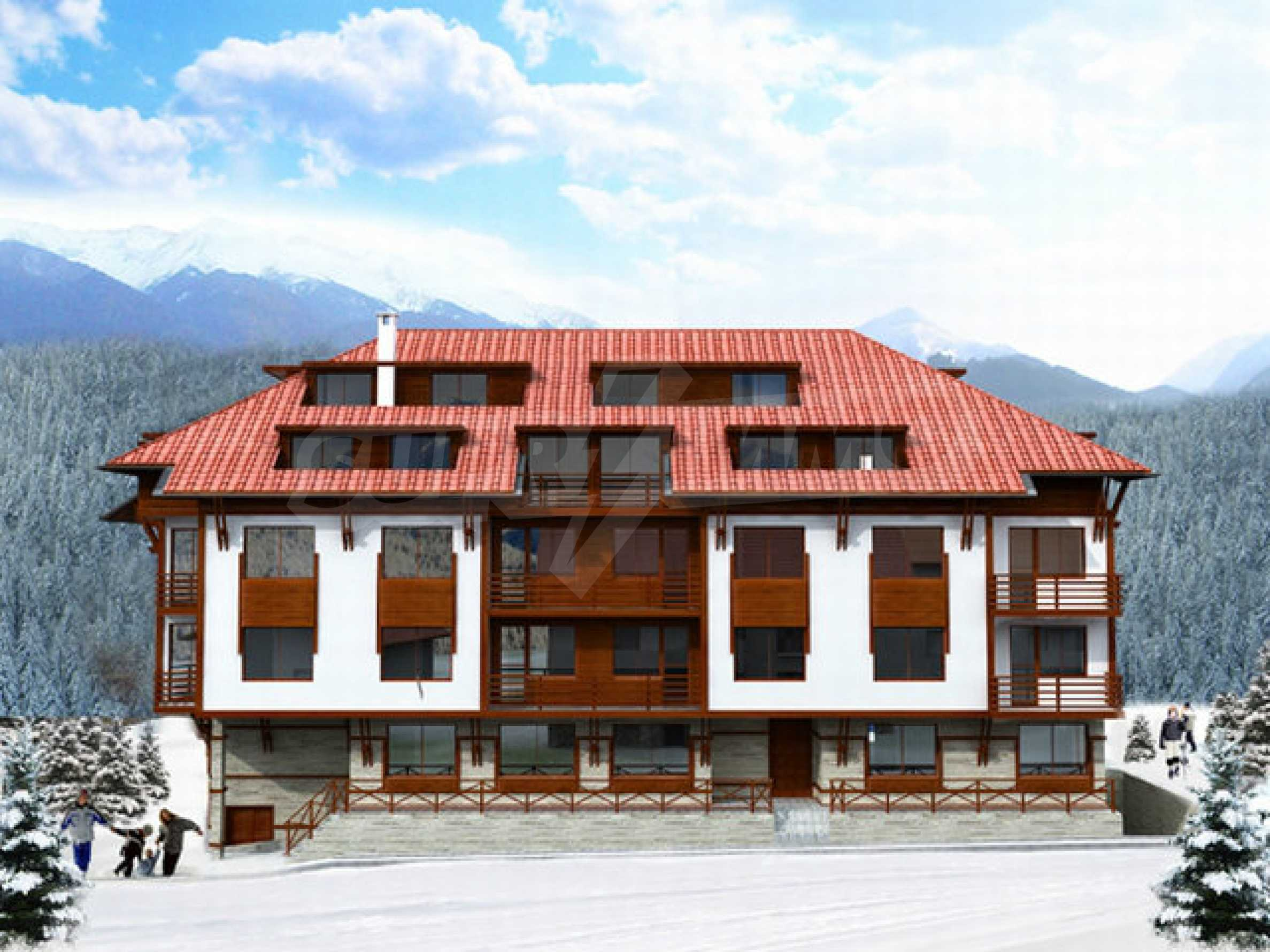 Building plot with project for sale in Bansko 1